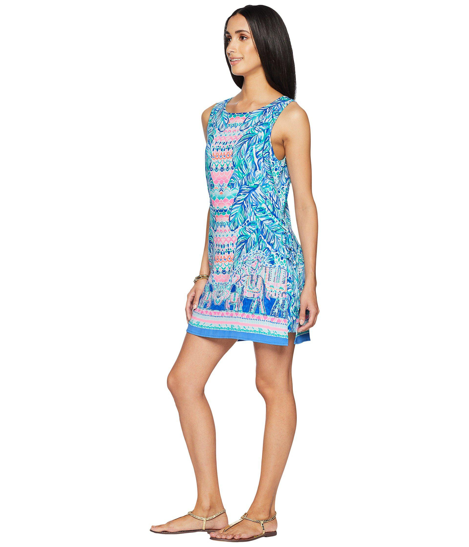 f5029bce5d4f Lyst - Lilly Pulitzer Donna Romper (multi Feel The Beat Engineered) Women s  Jumpsuit   Rompers One Piece in Blue