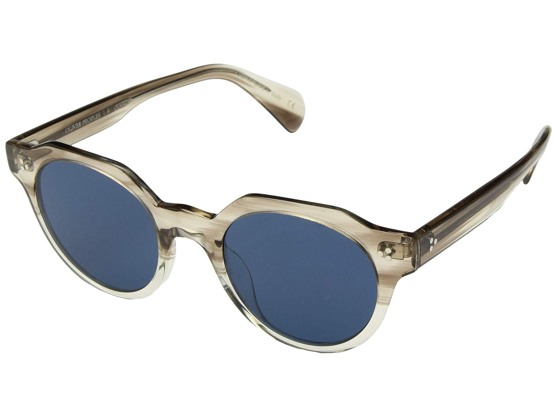 6f803d9fa08 Lyst - Oliver Peoples Irven (military Vsb blue) Fashion Sunglasses ...