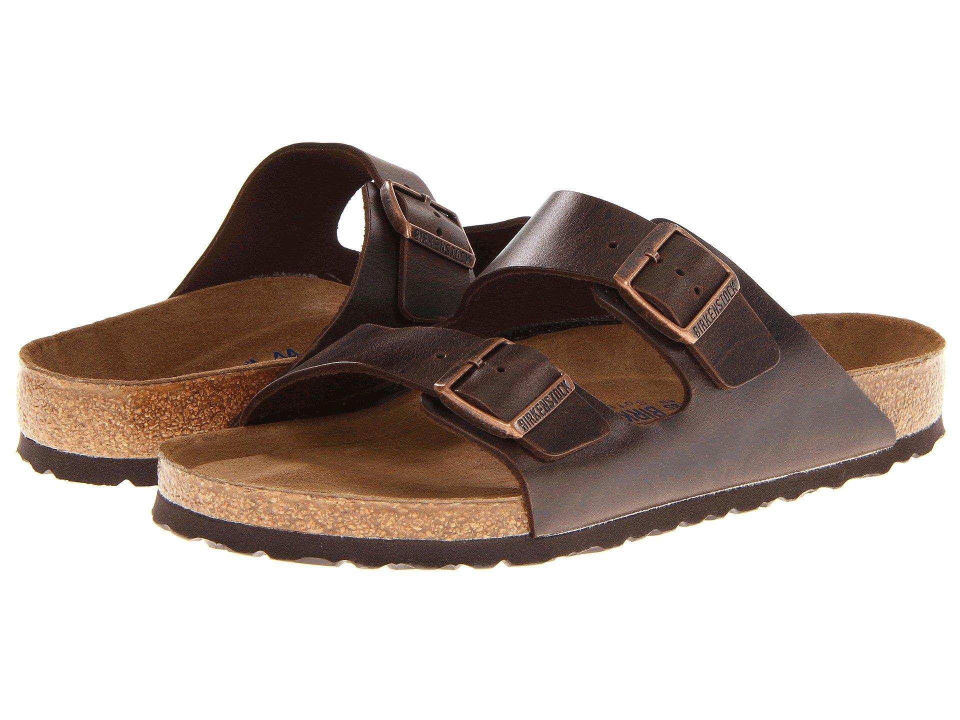 Lyst - Birkenstock Arizona Soft Footbed