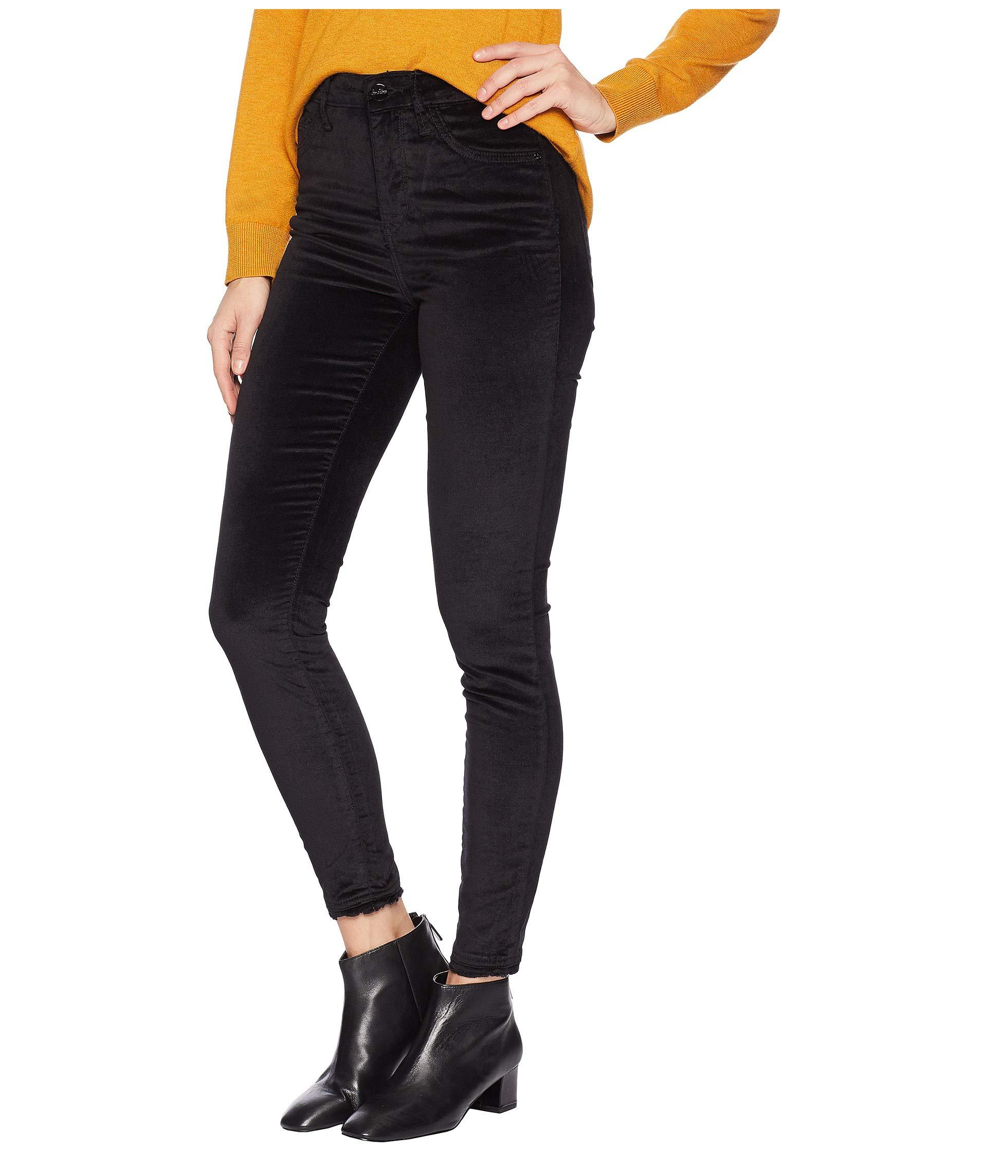 f66ea5ba5d344 Sam Edelman Stiletto High-rise Ankle Skinny In Luxe Velvet (luxe ...