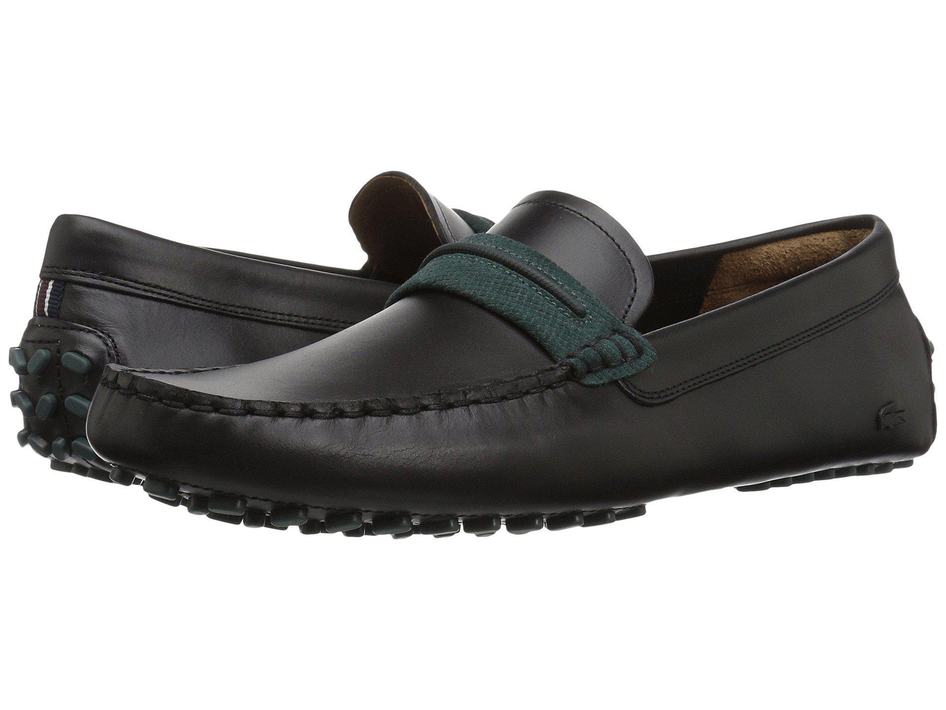4fa4916469521 Lyst - Lacoste Herron 317 1 Sneaker in Black for Men