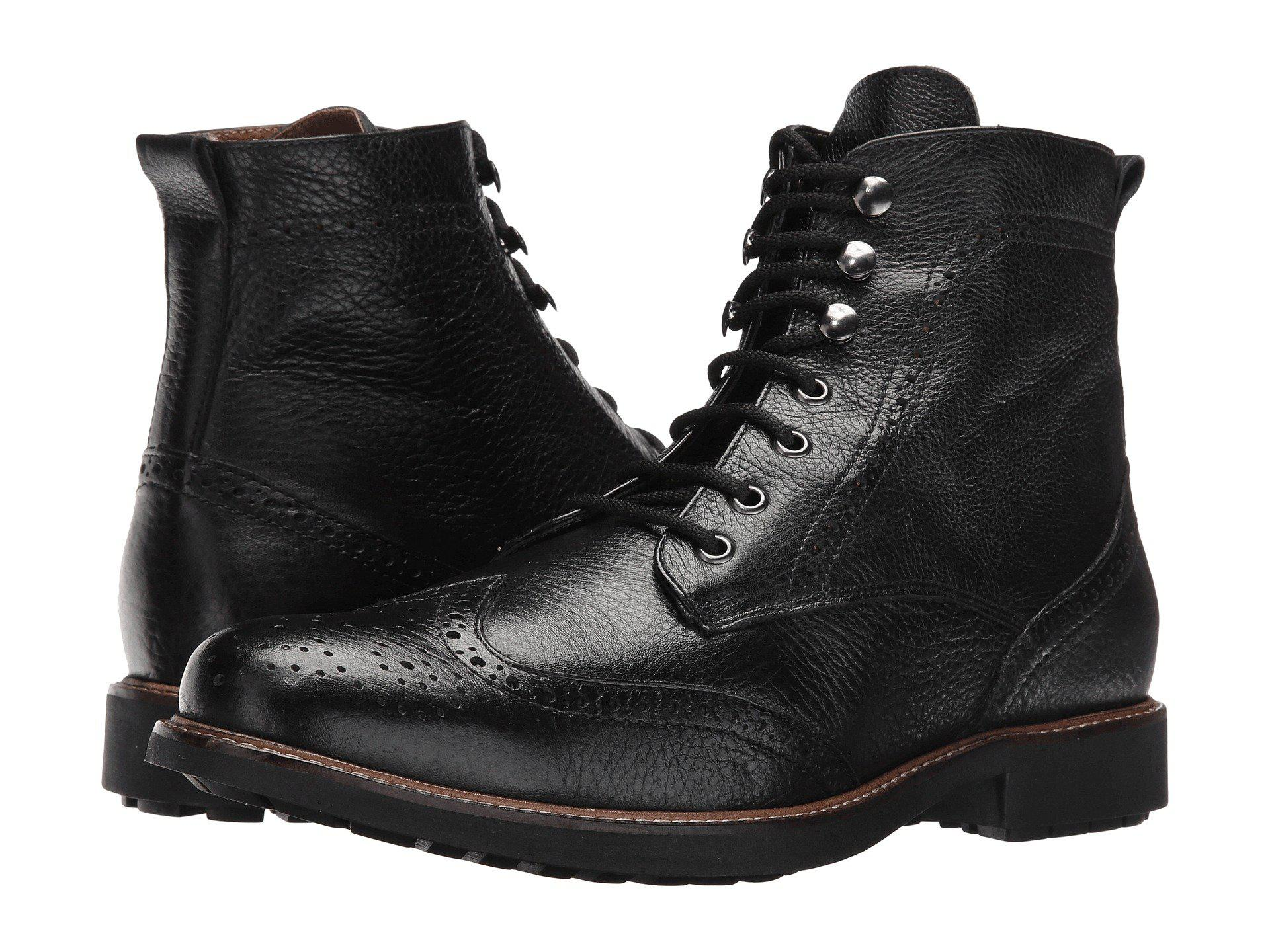 5c745f7c198f7 Lyst - Massimo Matteo Perf Wing Boot (cafe) Men s Lace-up Boots in ...