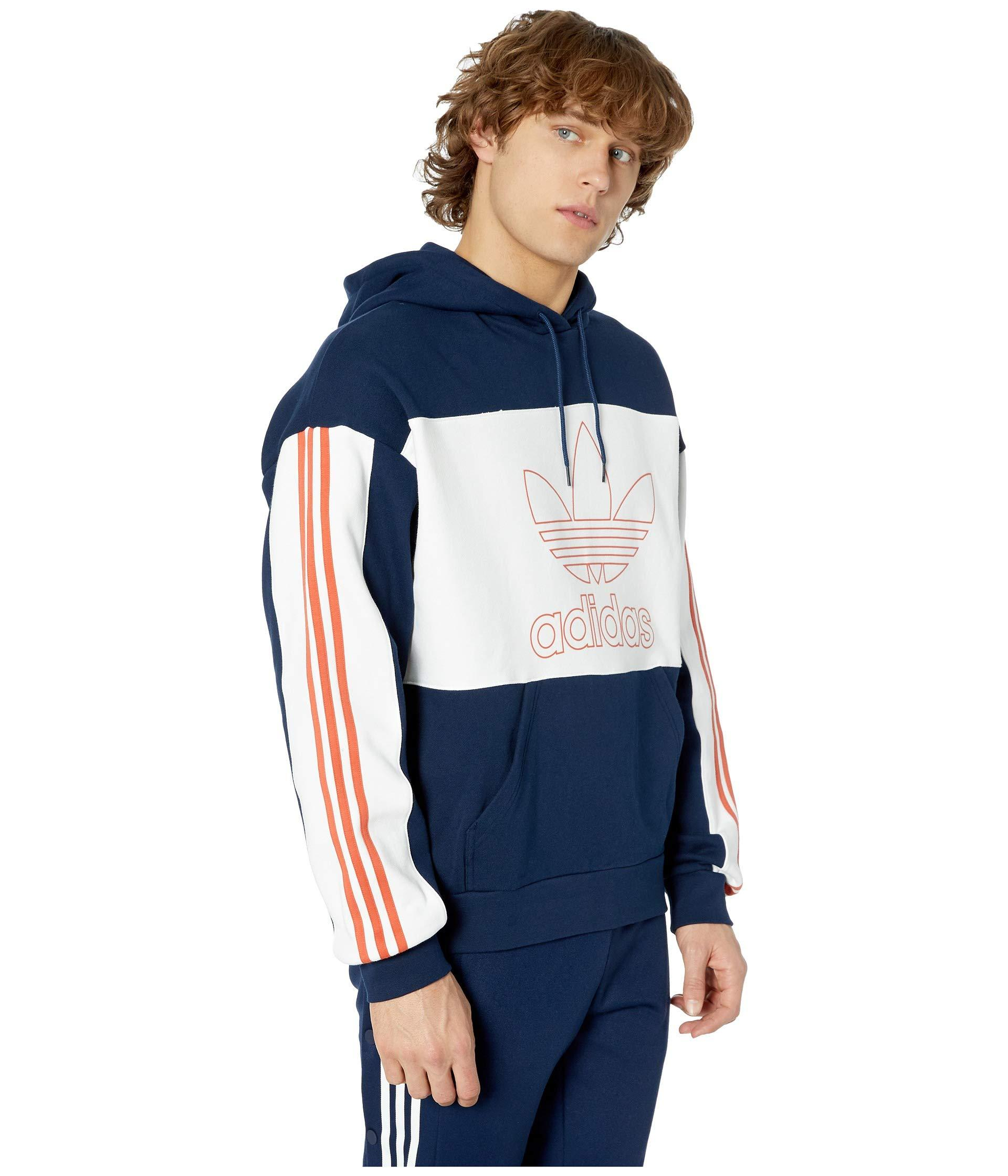 adidas Originals Cotton Spirit Outline Hoodie (ash Grey