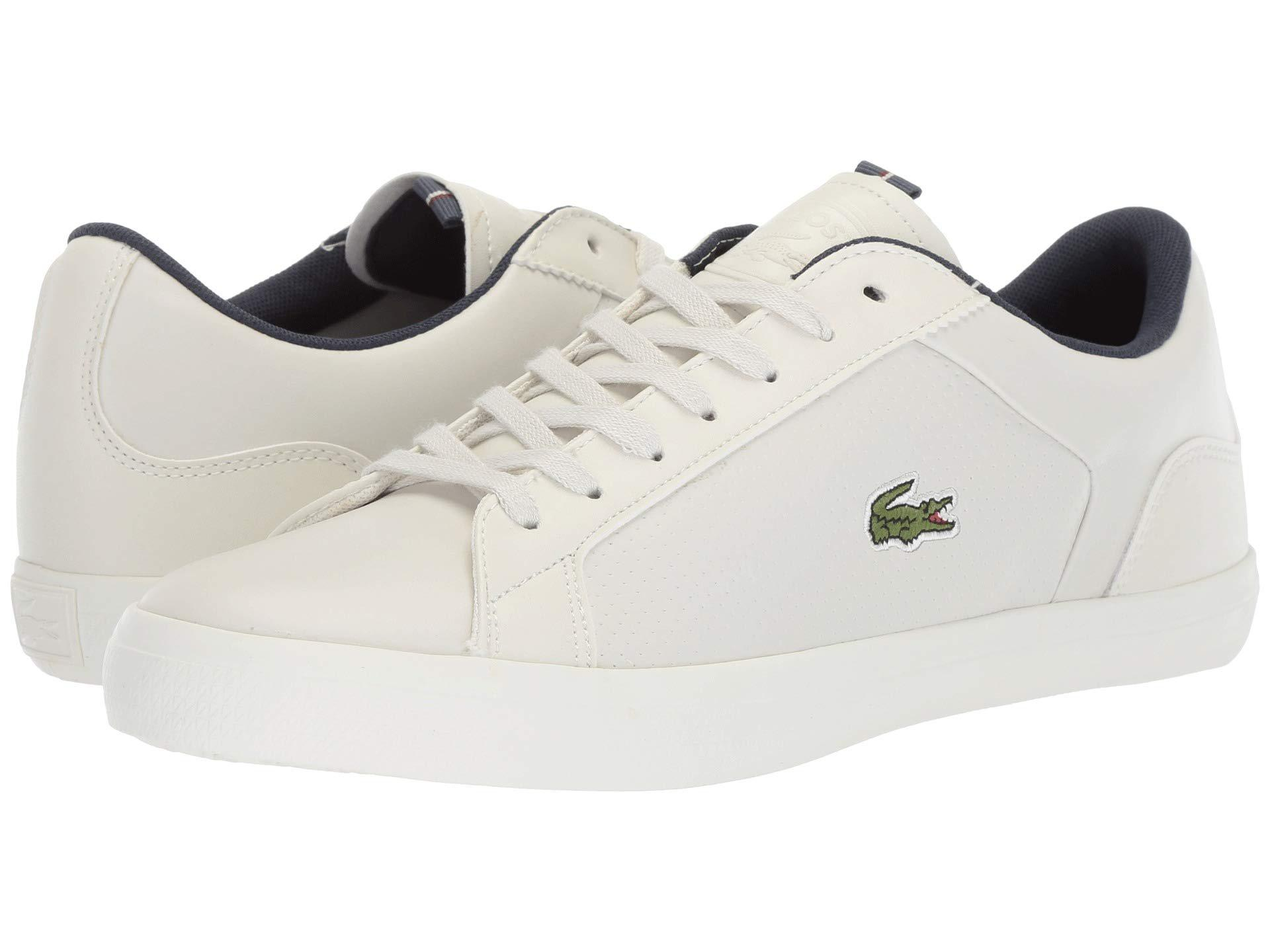 86e20c5a132afa Lyst - Lacoste Lerond 418 1 (brown natural) Men s Shoes in White for Men