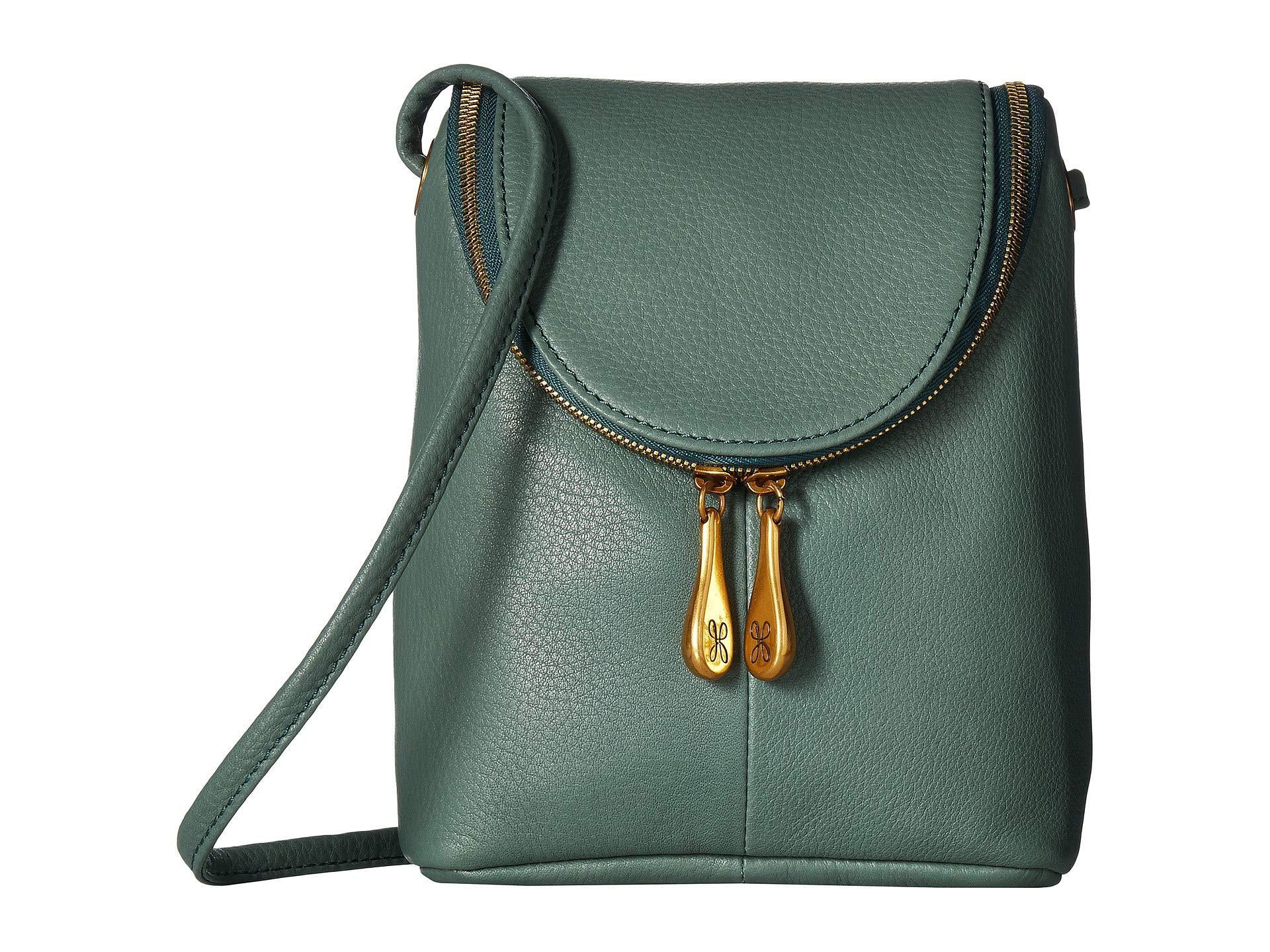 b6606df9600b Lyst - Hobo Fern (oyster) Cross Body Handbags in Green