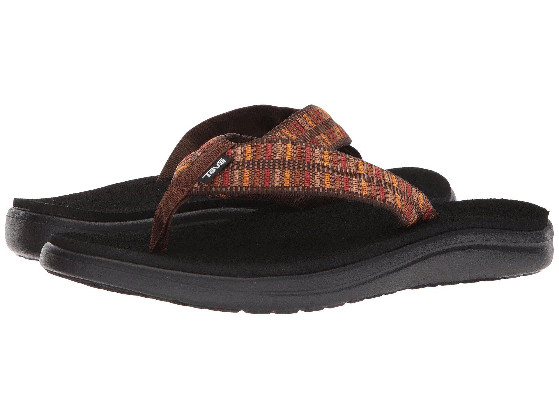 f15f70c7cc03e Lyst - Teva Voya Flip (zook Black) Men s Sandals for Men - Save ...