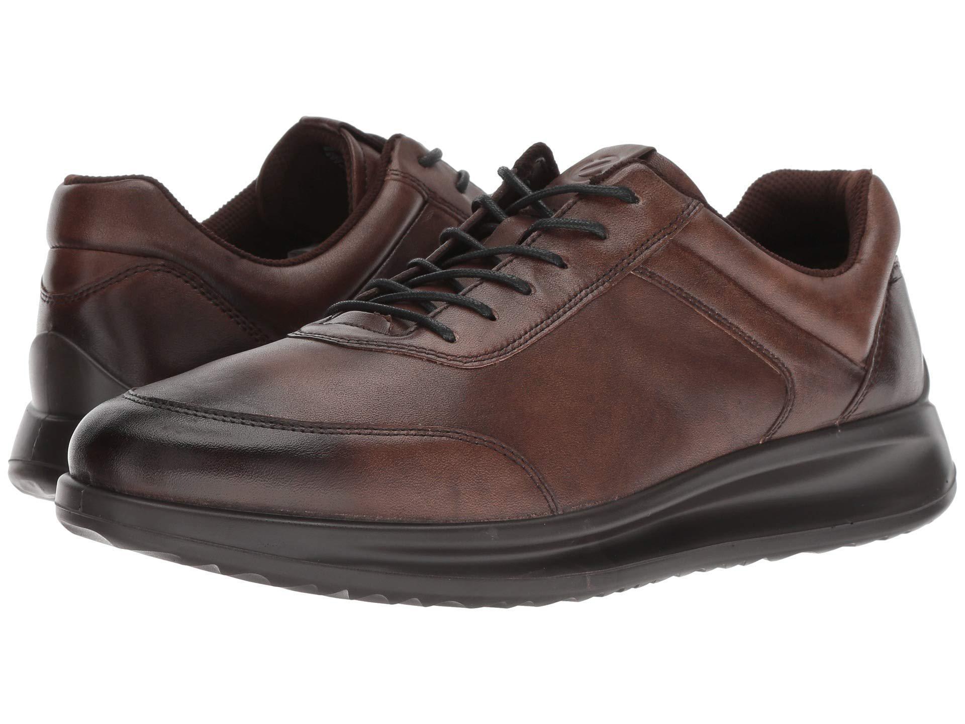 e77aae4b7a5 Ecco Aquet Sneaker (cocoa Brown) Men's Shoes in Brown for Men - Lyst