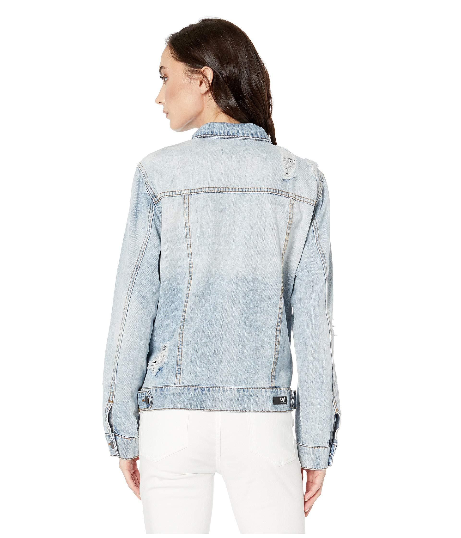 10afd8439 Kut From The Kloth Emma Boyfriend Jacket In Esteemed/new Vintage ...