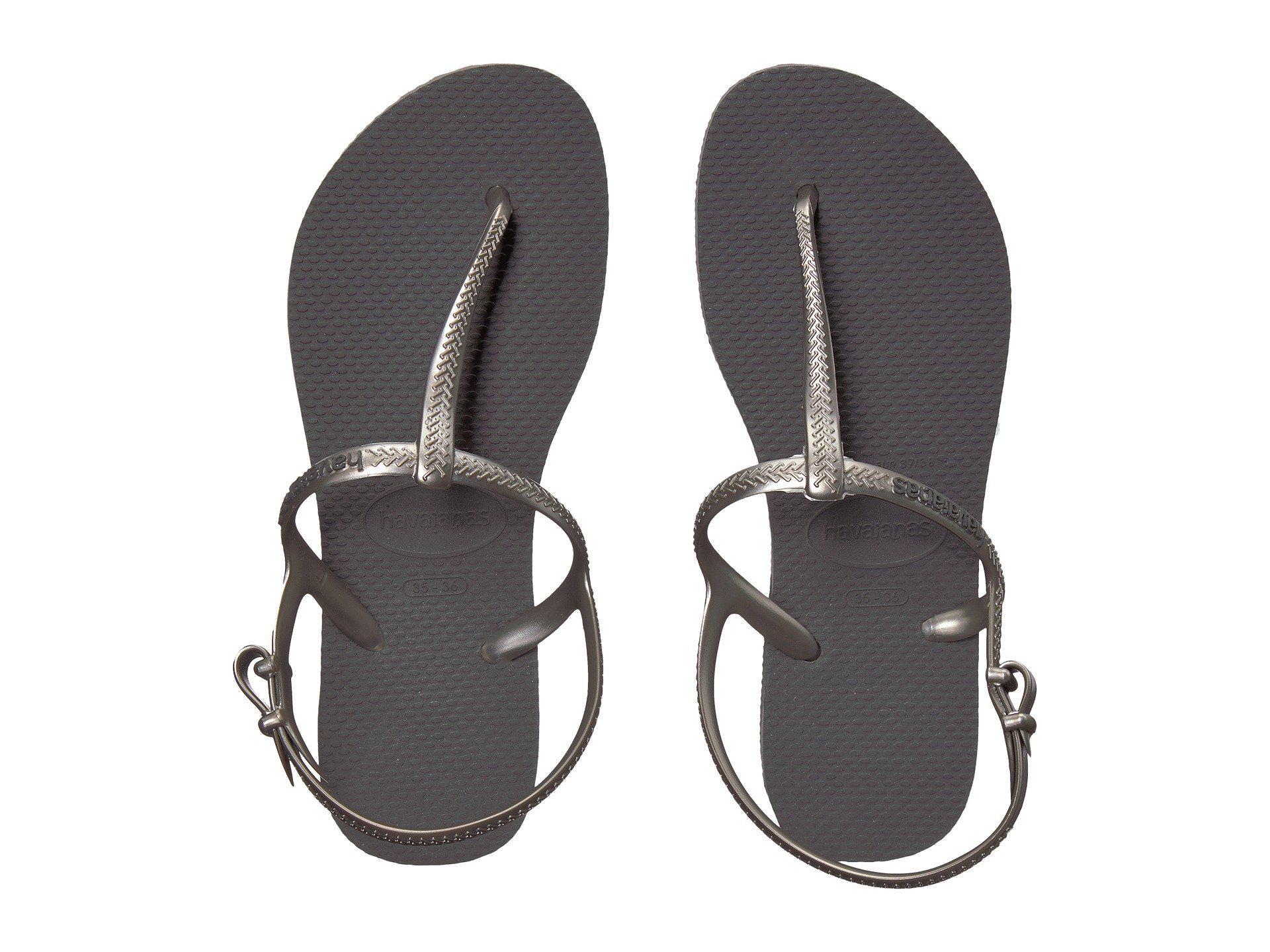 88bfc16a64501b Lyst - Havaianas Freedom Sl Flip-flops (black) Women s Sandals in ...