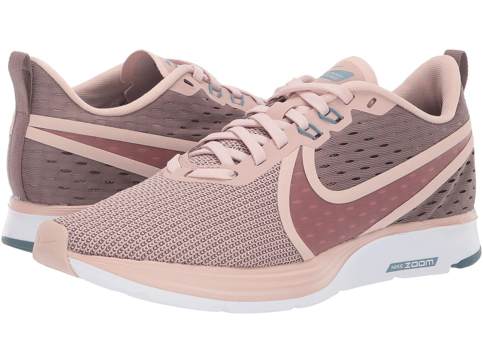 00469c1d8b4b1f Lyst - Nike Zoom Strike 2 (black anthracite white) Women s Running Shoes