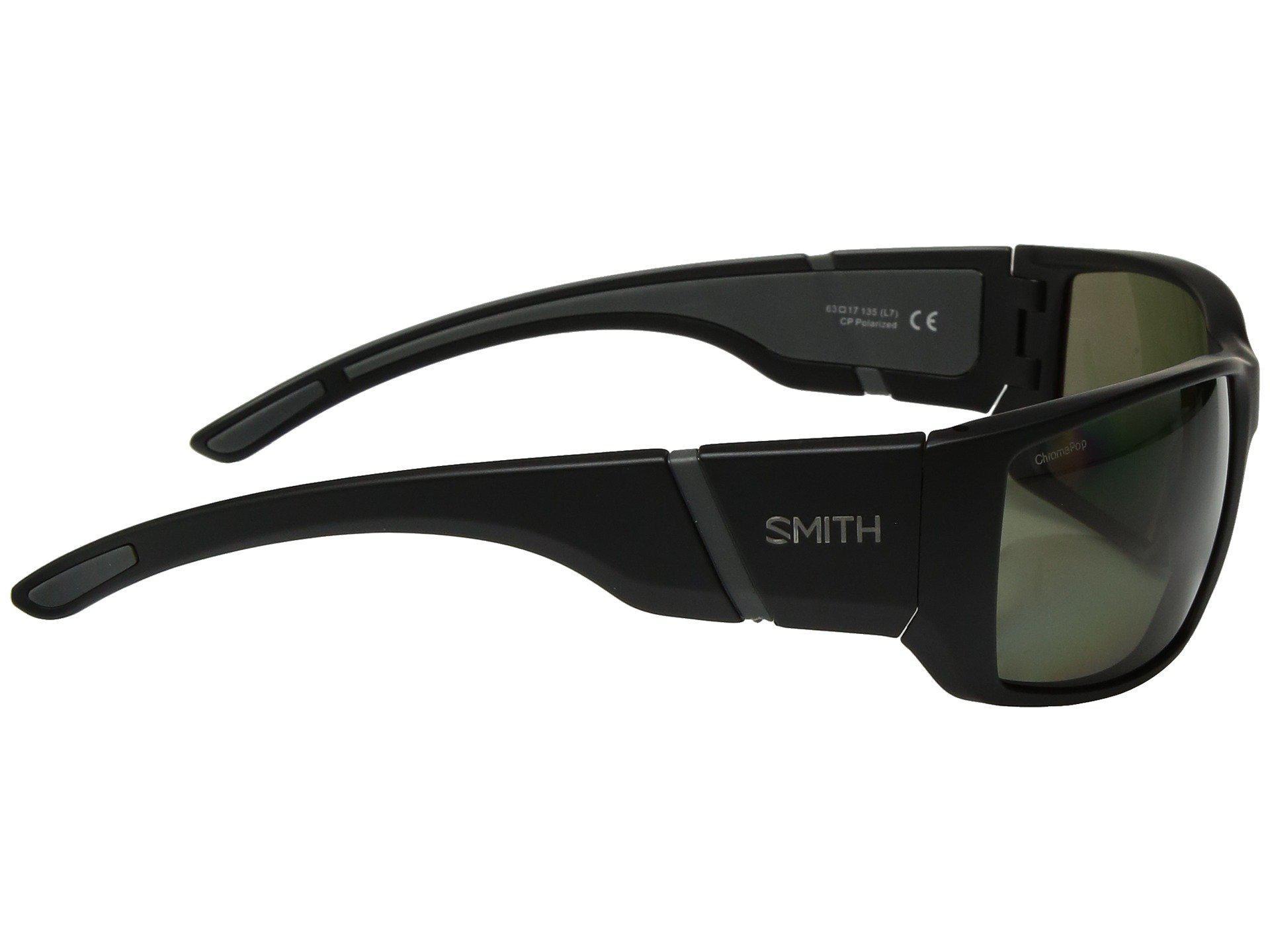 83ba3e19f06 Smith Optics - Transfer (matte Black gray Green Chromapoptm Polarized Lens) Athletic  Performance. View fullscreen