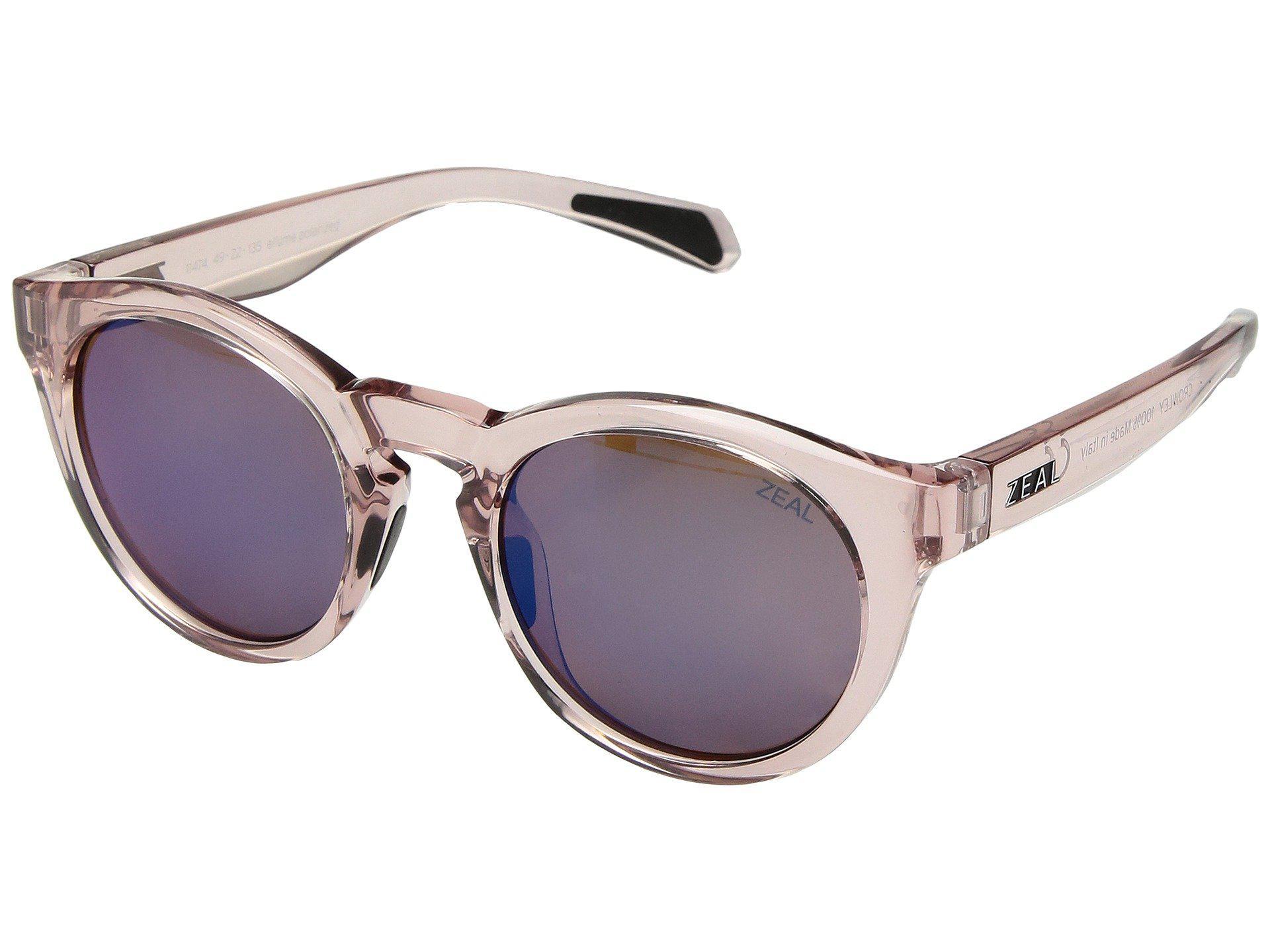 fae728e8d1 Zeal Optics. Women s Crowley (ivory Tortoise polarized Copper Lens) Athletic  Performance Sport Sunglasses