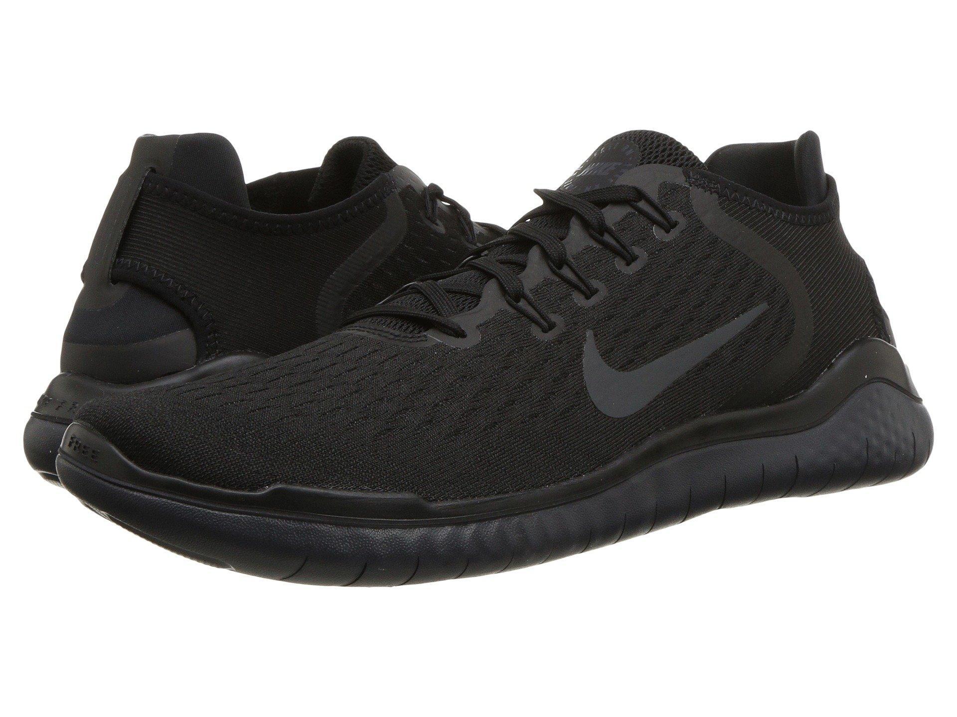 55c038912a021 Nike - Free Rn 2018 (black white) Men s Running Shoes for Men -. View  fullscreen