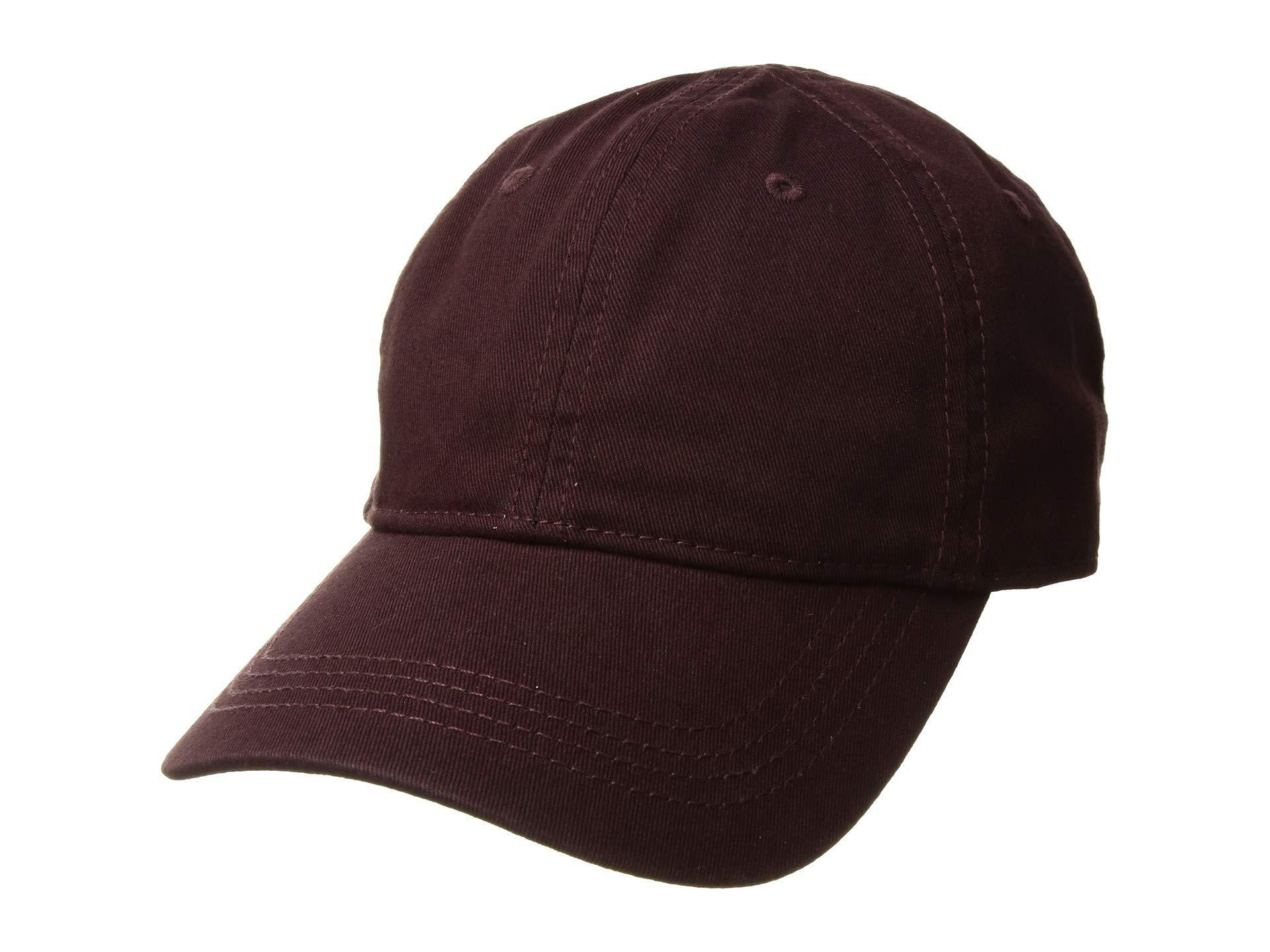 4c9d74abf70 Lyst - Lacoste Classic Gabardine 3cm Croc Cap (vertigo) Caps for Men