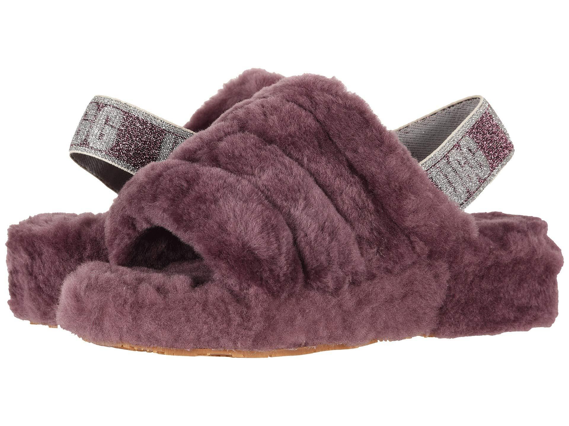 5c293de2b71d Lyst - UGG Fluff Yeah Slide (pink Dawn) Women s Slippers