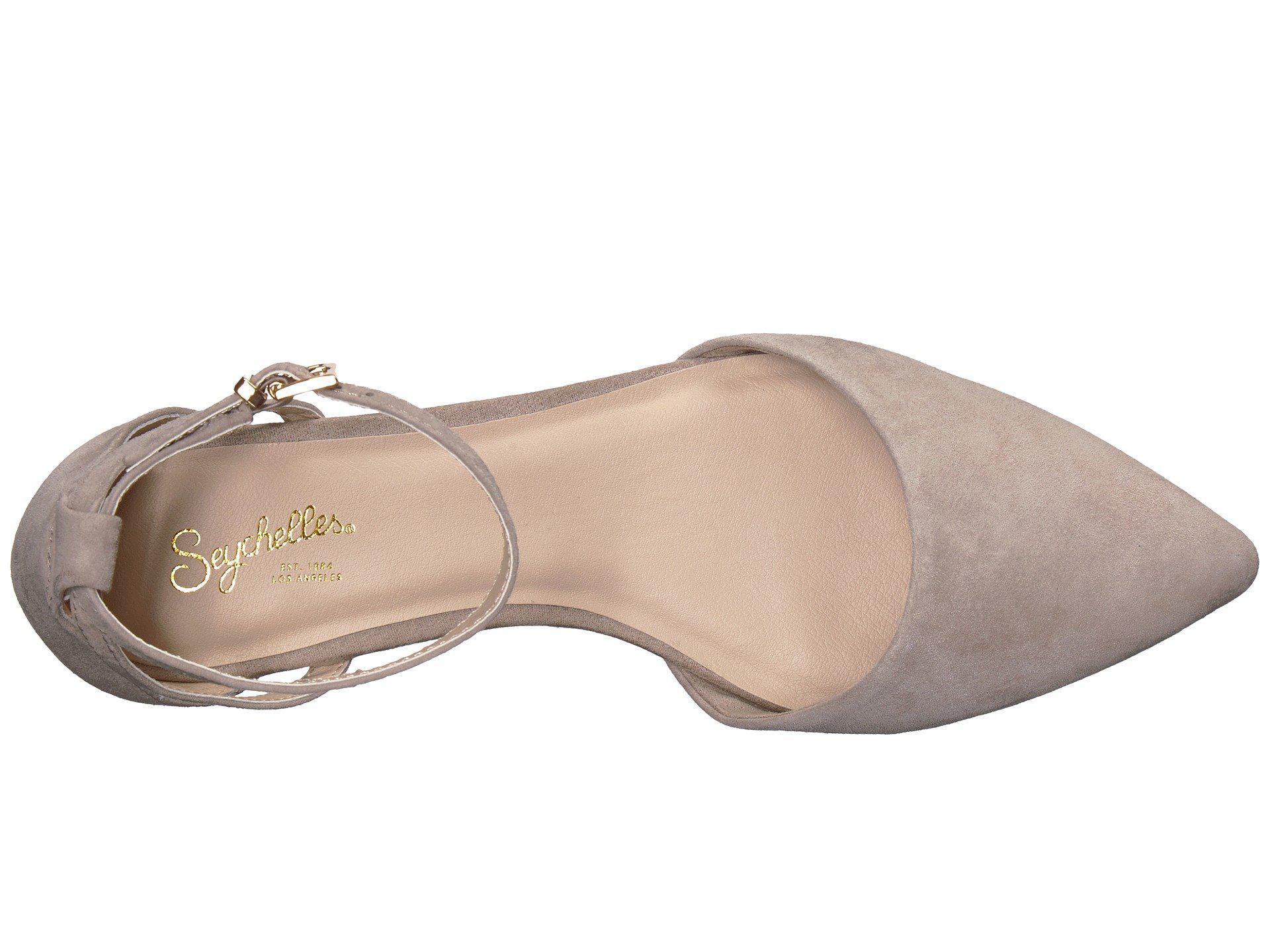35ec5ee2965 Lyst - Seychelles Plateau Ballet Flat in Brown