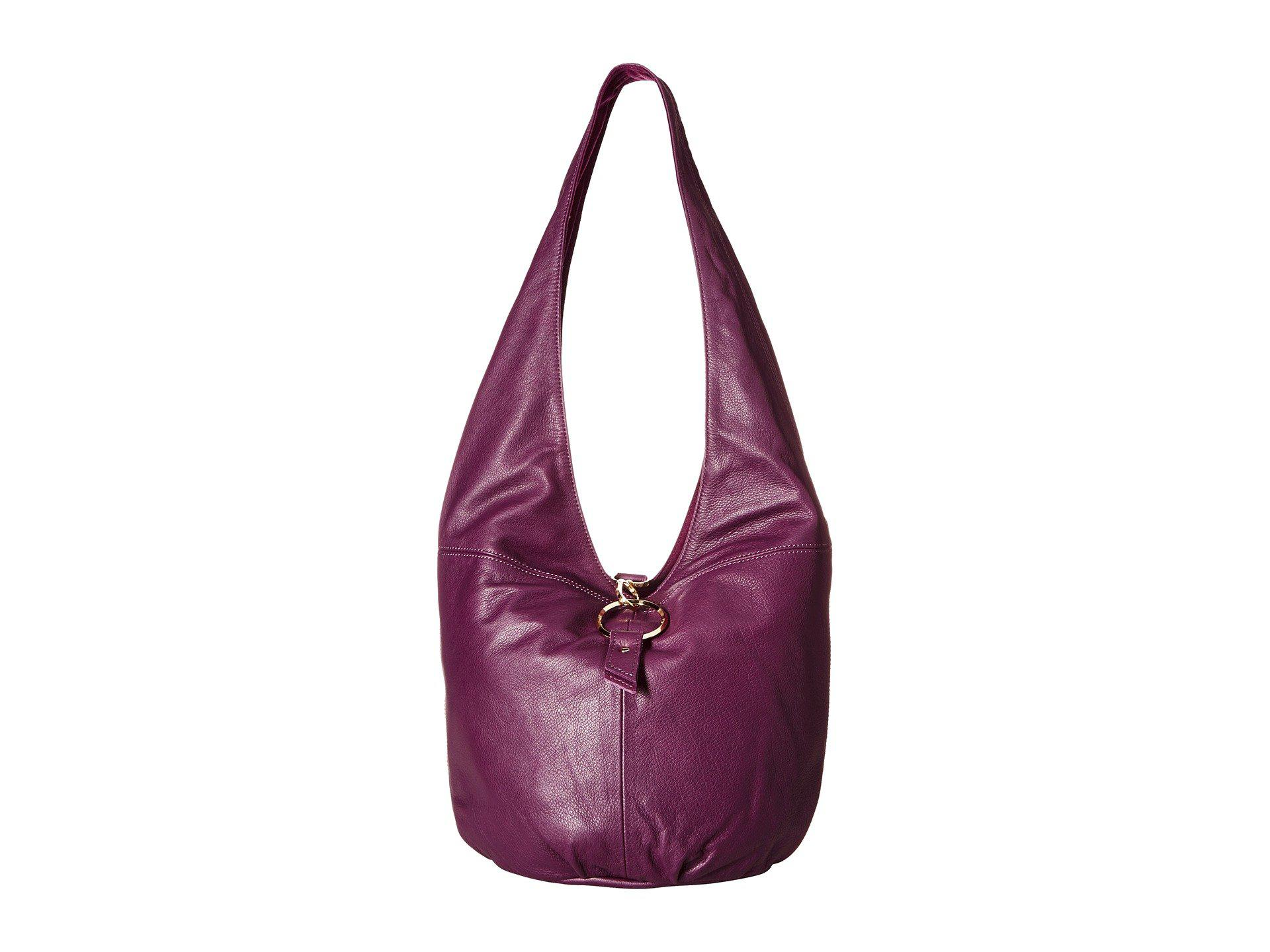 7ae3fbd8e7 Lyst - Liebeskind Hobo M - Bobo H6 (cold Grey) Hobo Handbags in Purple