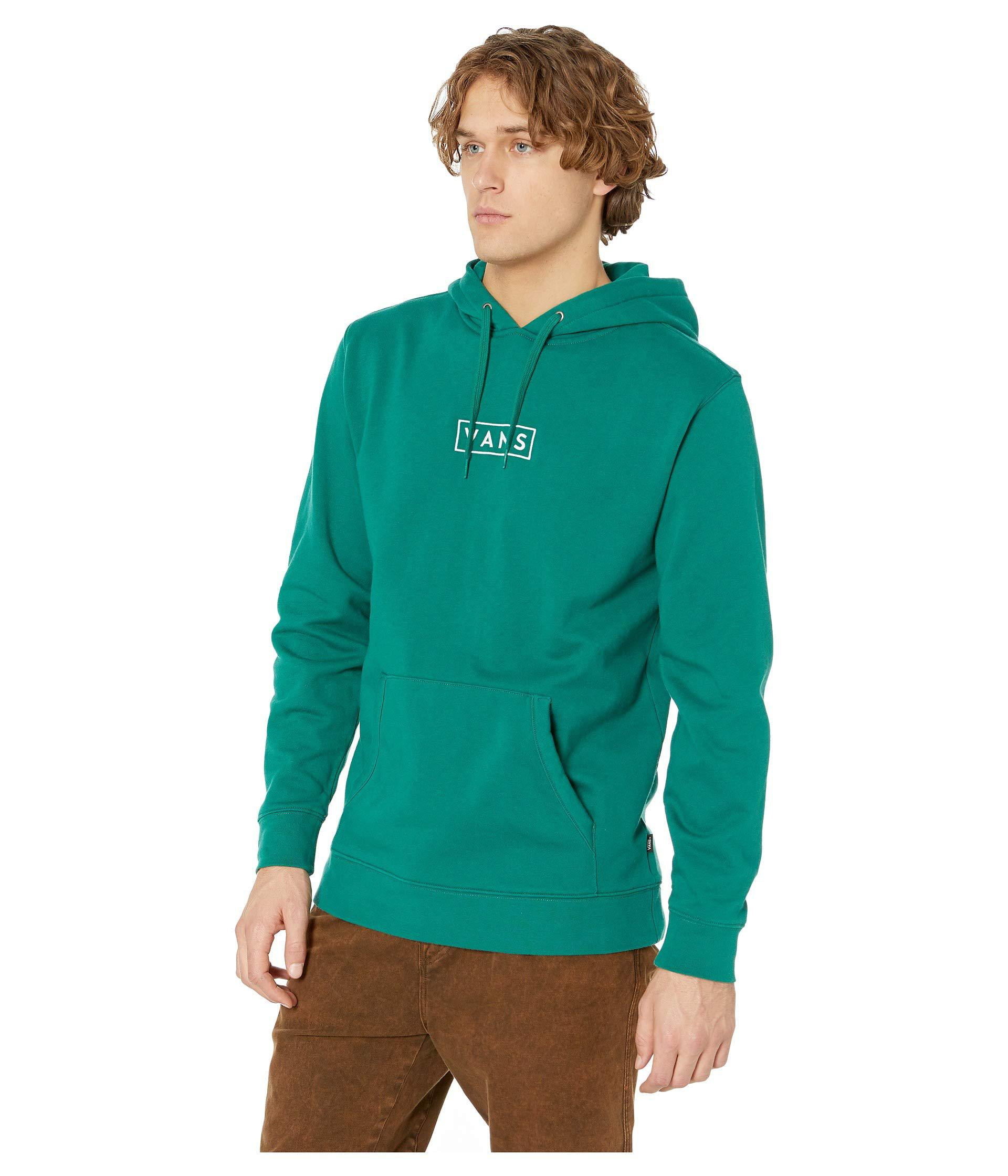65a40fd2d68d74 Lyst - Vans Easy Box Pullover Fleece in Green for Men - Save 16%