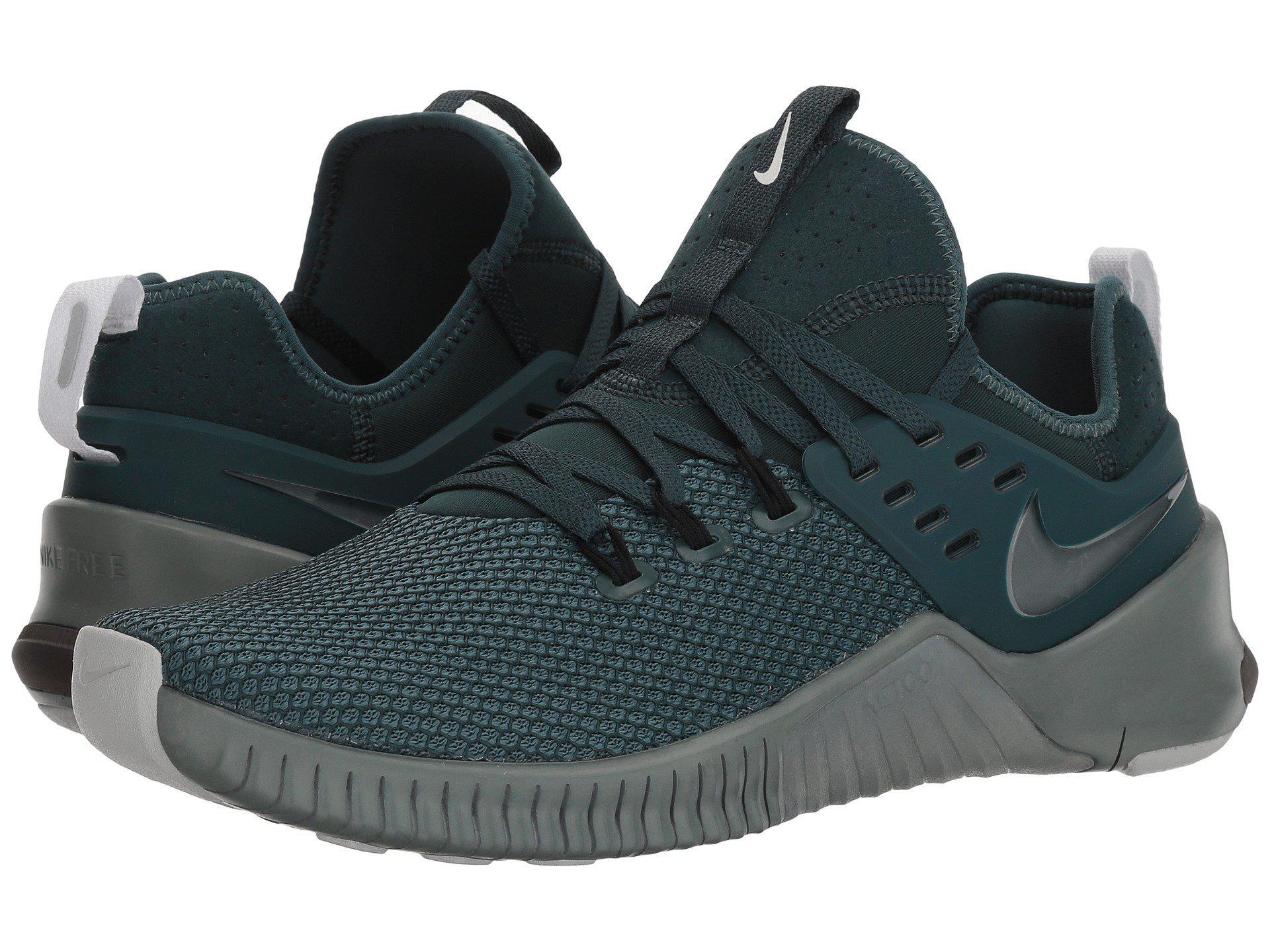 b6eee2e070e3 Lyst - Nike Metcon Free (dark Stucco olive Canvas light Silver ...