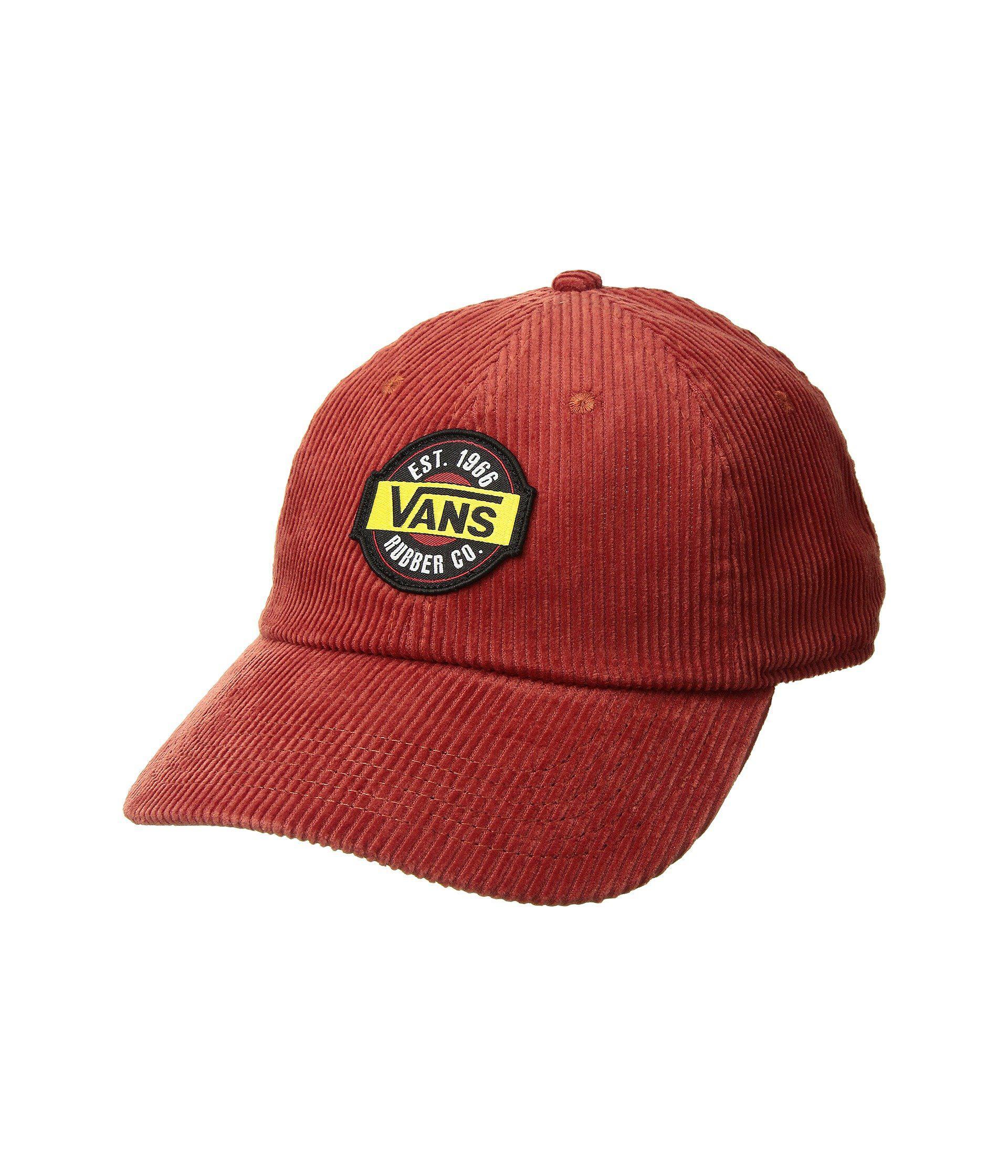 85770c15c39 Vans - Red Summit Court Side Hat (black) Baseball Caps - Lyst. View  fullscreen