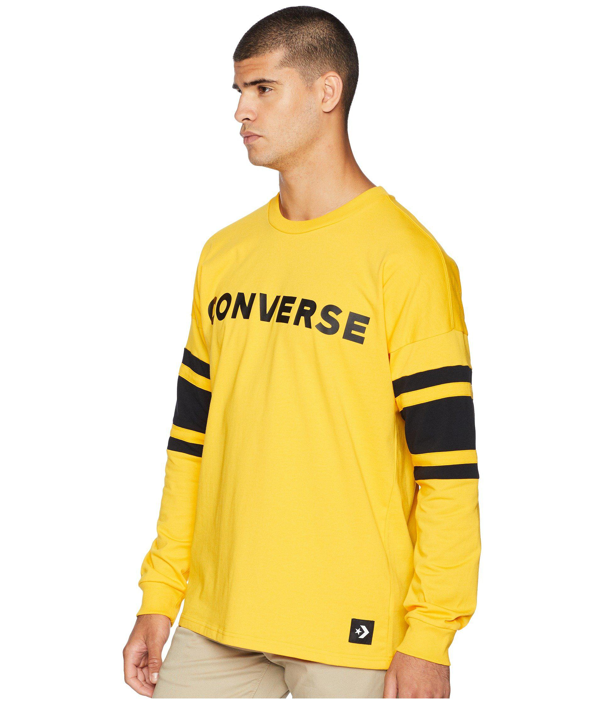 converse pullover gold