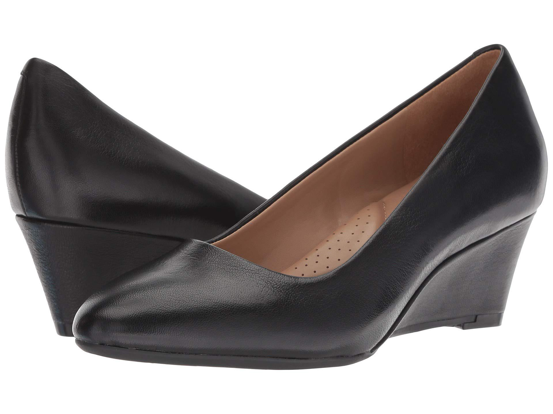 3546b747d883 Lyst - Aerosoles Inner Circle (black Leather) Women s Shoes in Black