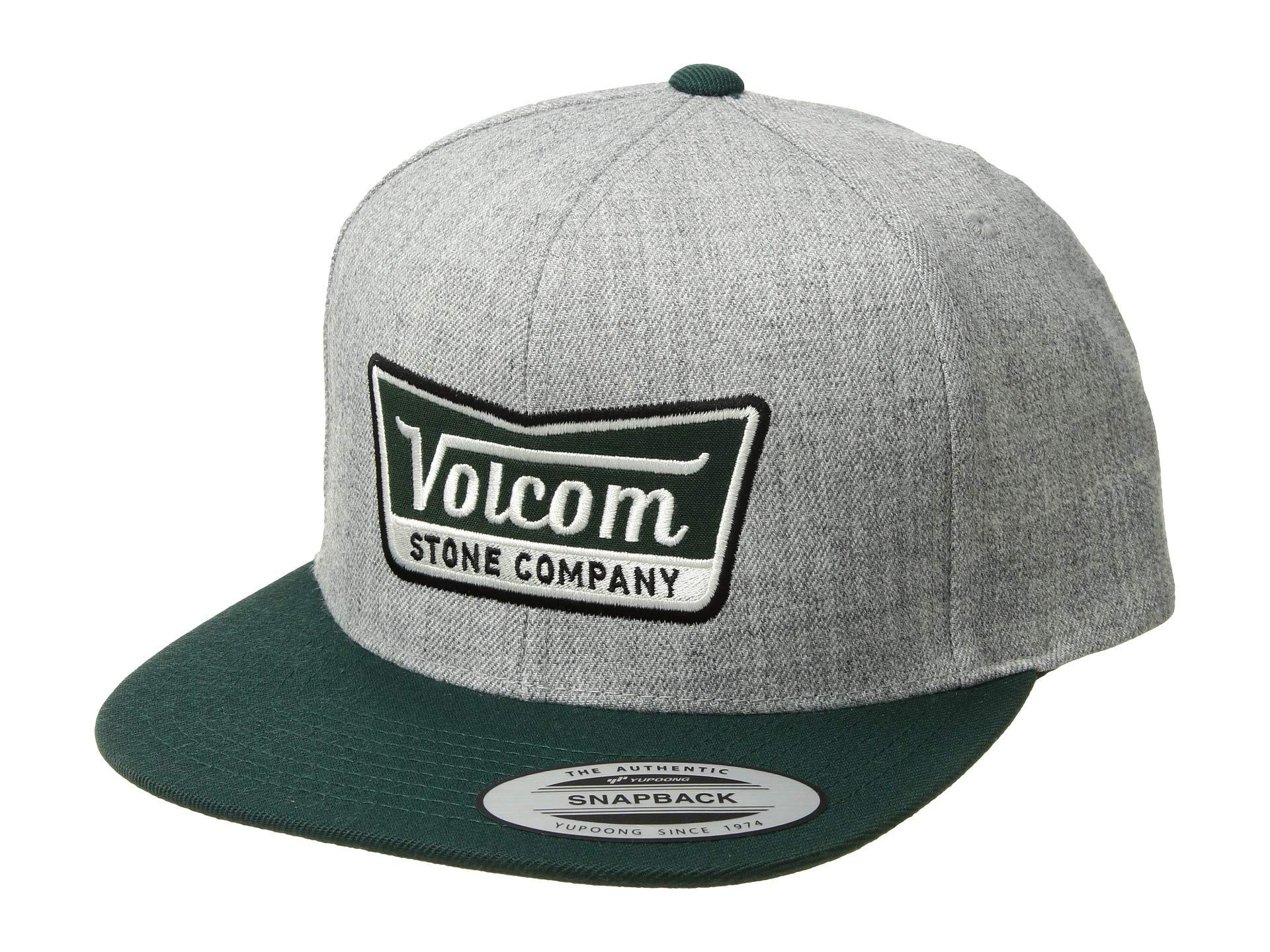 Lyst - Volcom Cresticle (charcoal) Caps in Gray for Men 003a09ee547e