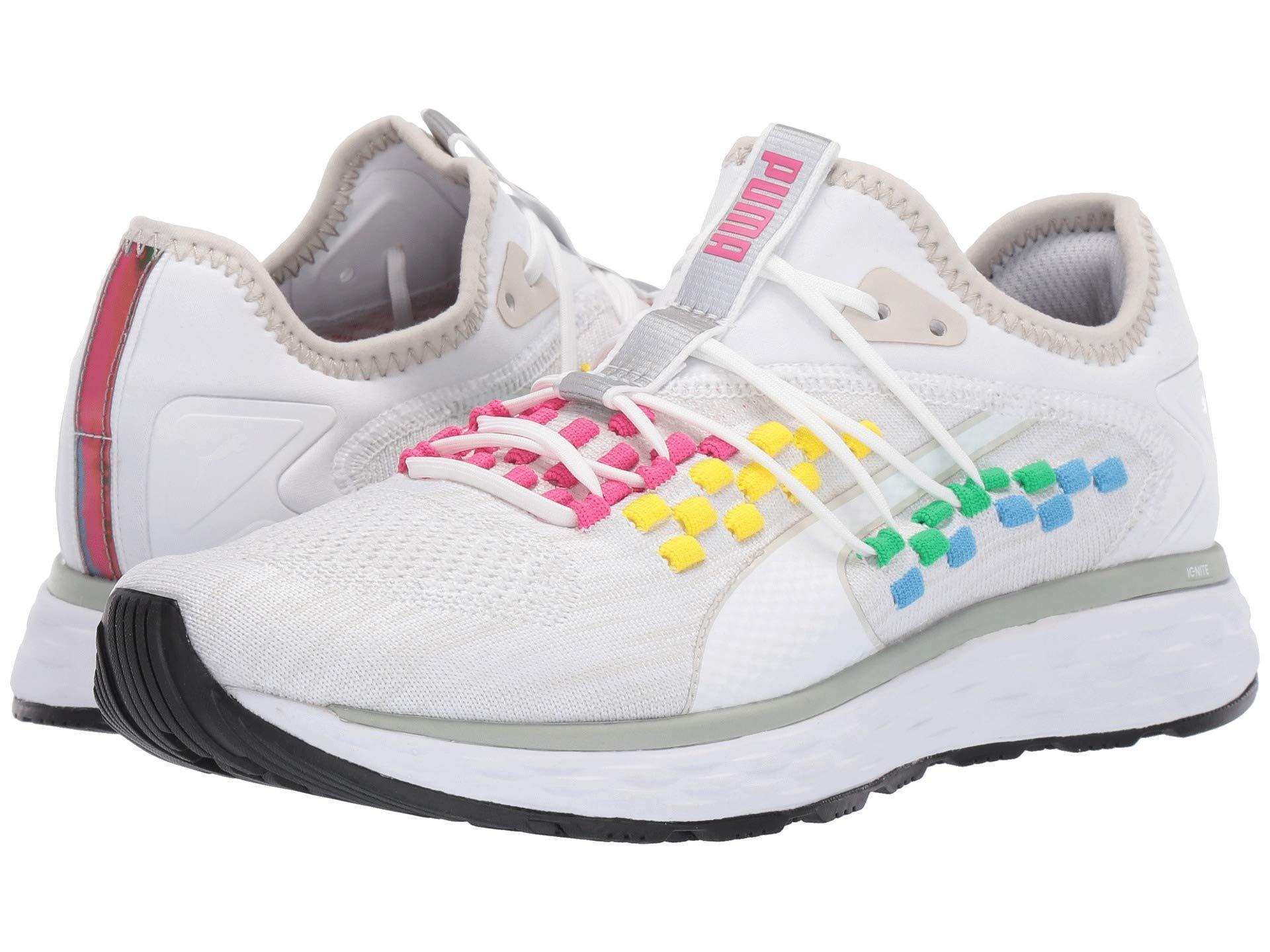 Lyst - PUMA Speed 600 Fusefit Sneaker in White a8f6c3c9a