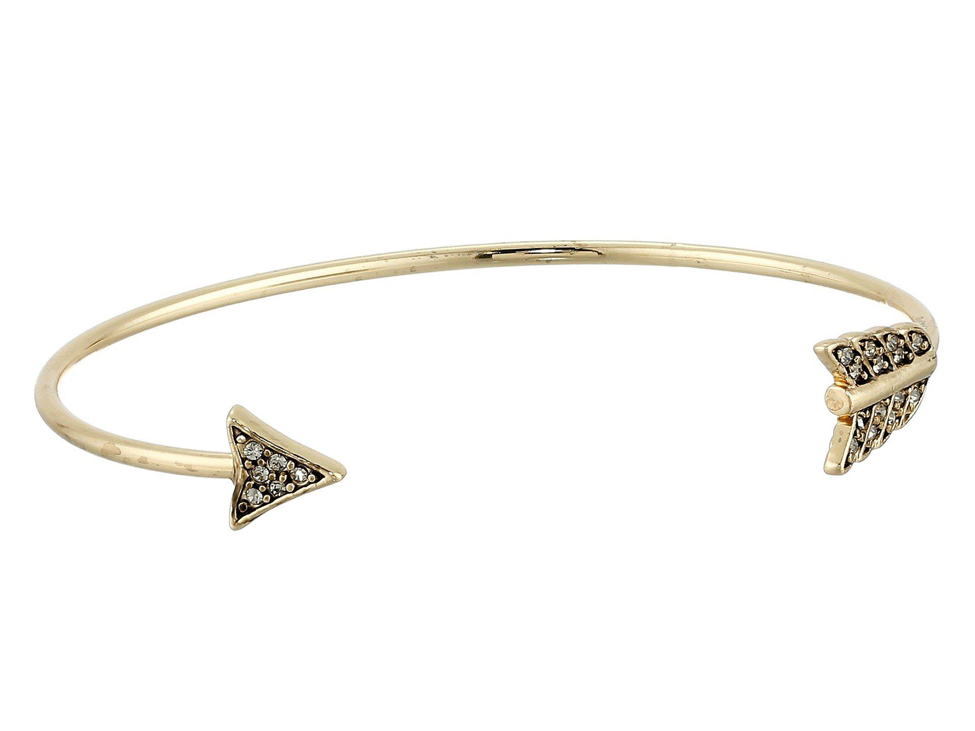 rose at bracelet anita gold diamond arrow end ko cuff