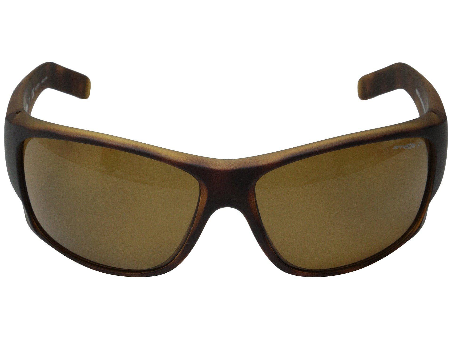 d5ab8874a35 Arnette - Heist 2.0 (fuzzy Havana brown Polarized) Sport Sunglasses for Men  -. View fullscreen