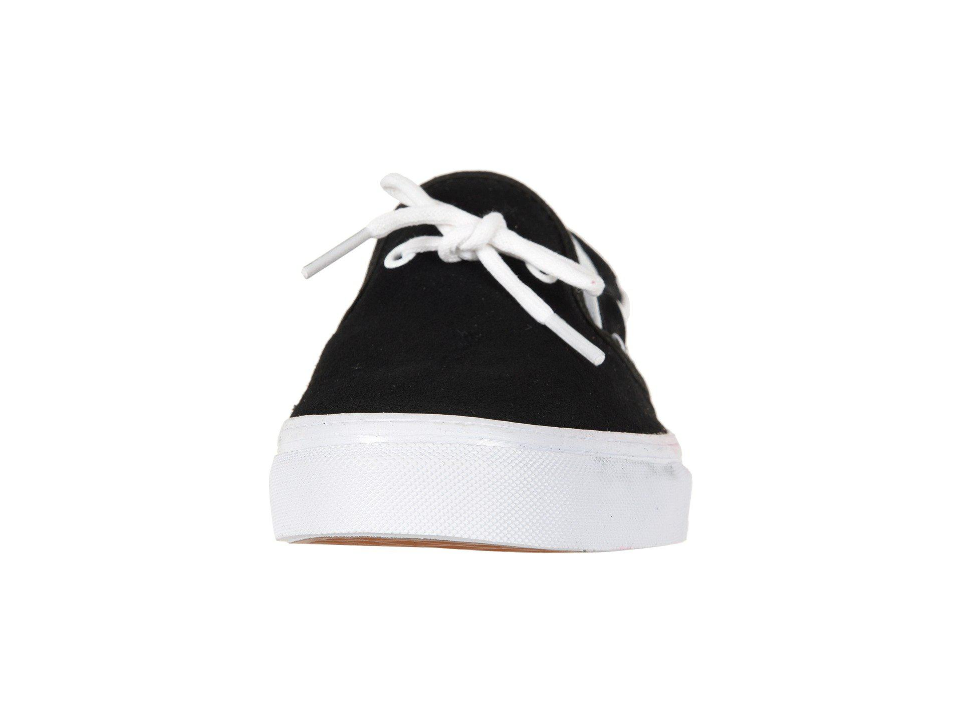 1c448a0c9eb36e Lyst - Vans Lacey 72 ((suede) Leather Lace black) Skate Shoes in ...