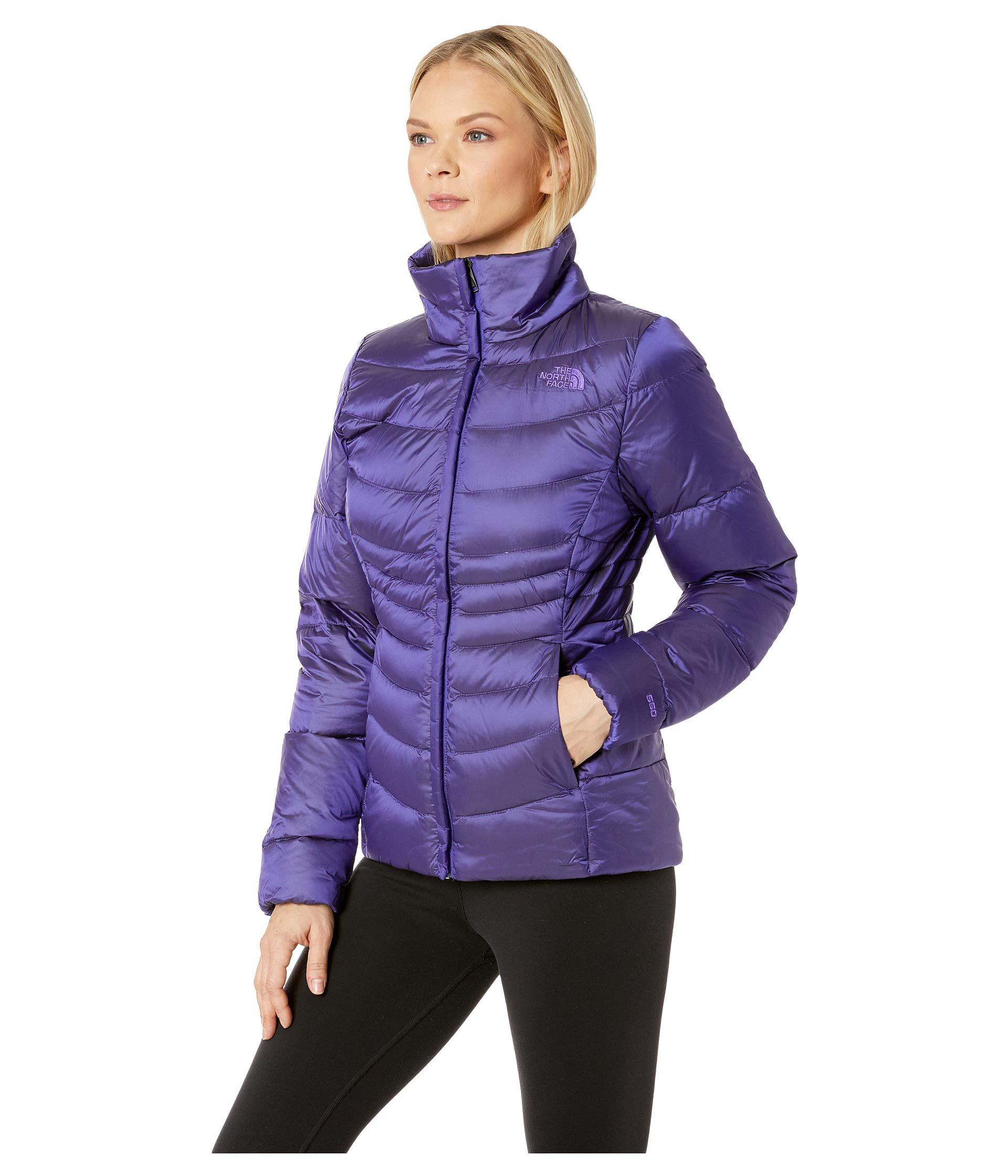 b626327417 Lyst - The North Face Aconcagua Jacket Ii (shiny Mid Grey) Women s Coat in  Purple