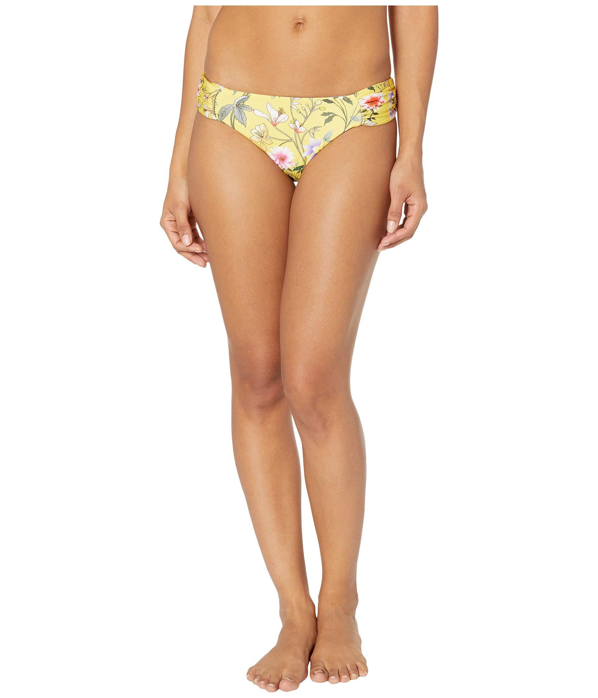 e06b0a4ba7460 Lucky Brand. Cruisin Coronado Reversible Side Shirred Pant Bottoms (multi)  Women's Swimwear