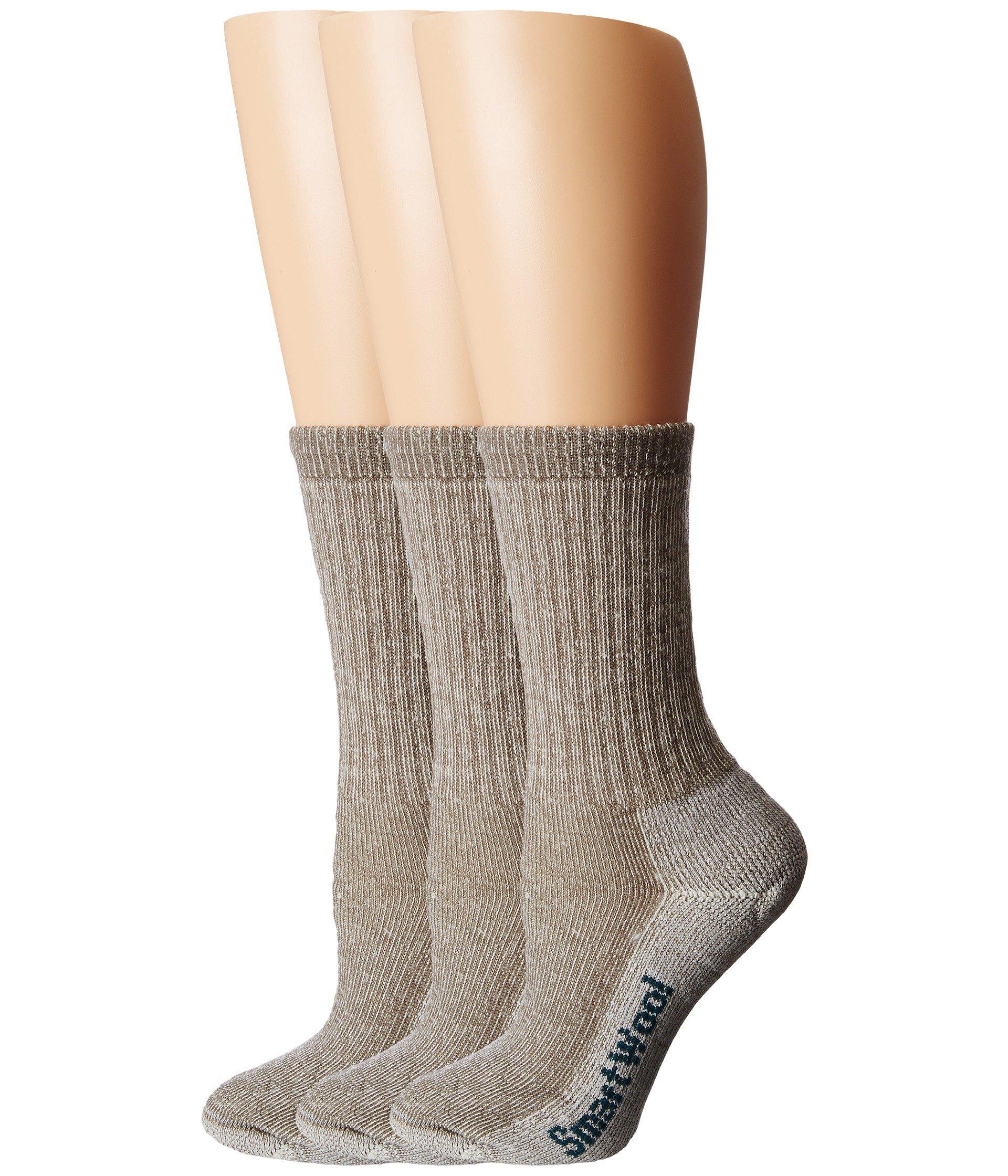 875a481d0e7e5 Smartwool. Brown Hike Medium Crew 3-pack (navy 1) Women's Crew Cut Socks  Shoes