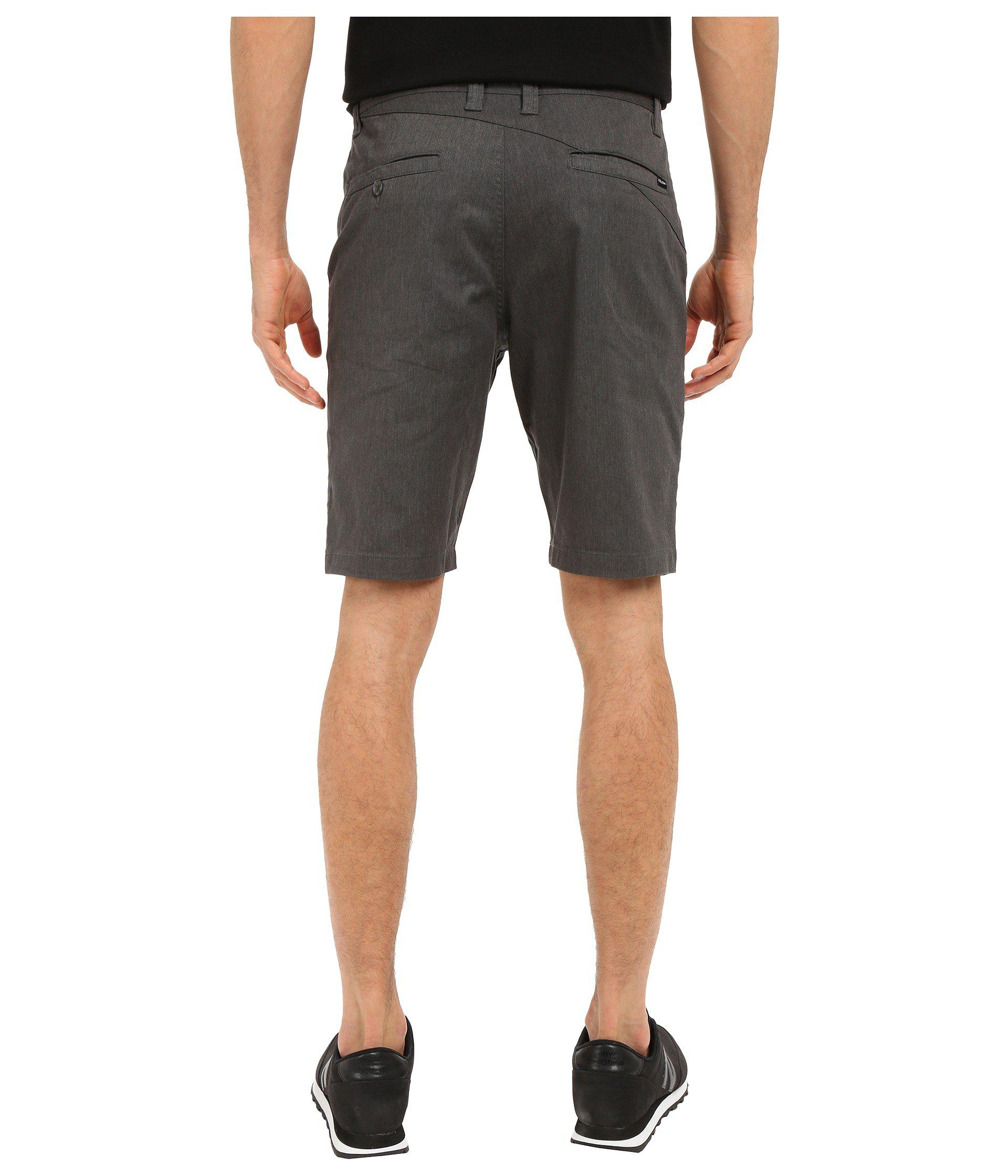 28f72c73a1 Volcom Frickin Modern Stretch Chino Shorts (grey Heather) Men's ...