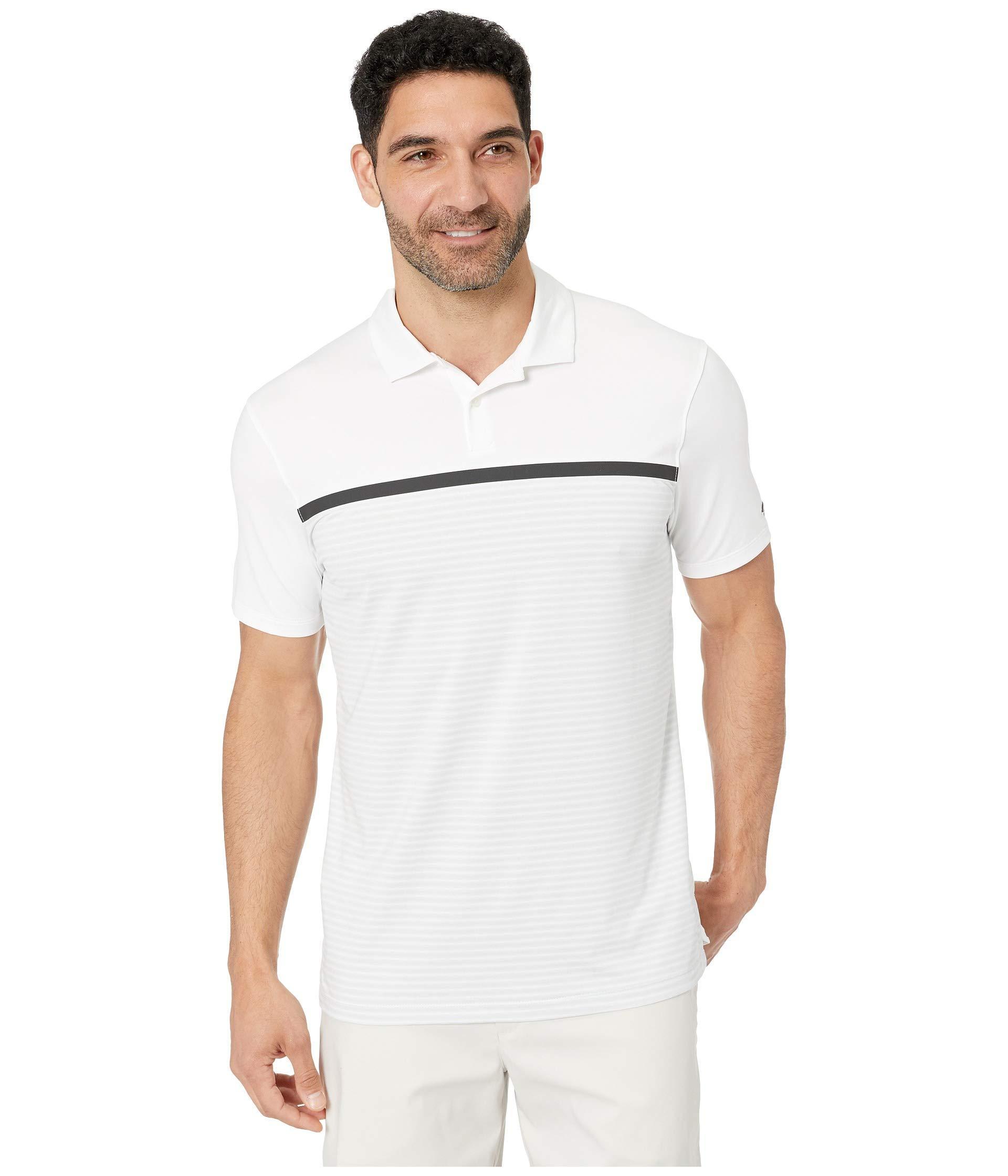43a8c51edb Nike. White Tw Dry Vapor Stripe Block Polo (black/black) Men's Clothing