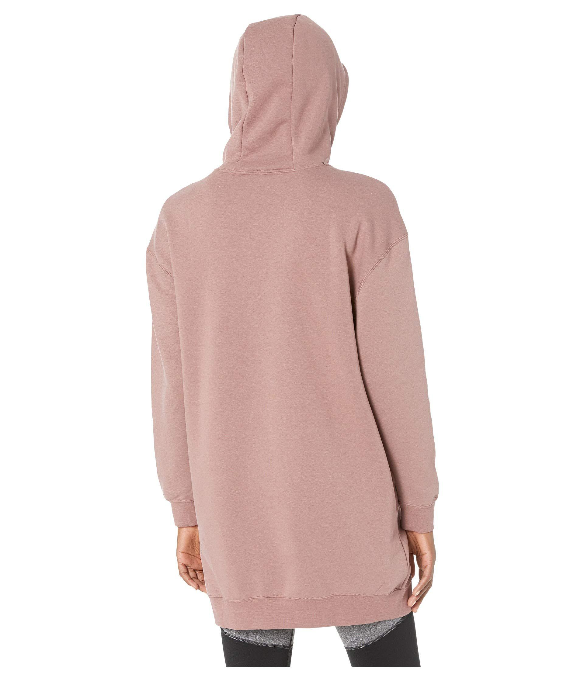 Sportswear Air Hoodie Oversize (smokey Mauveblack) Sweatshirt