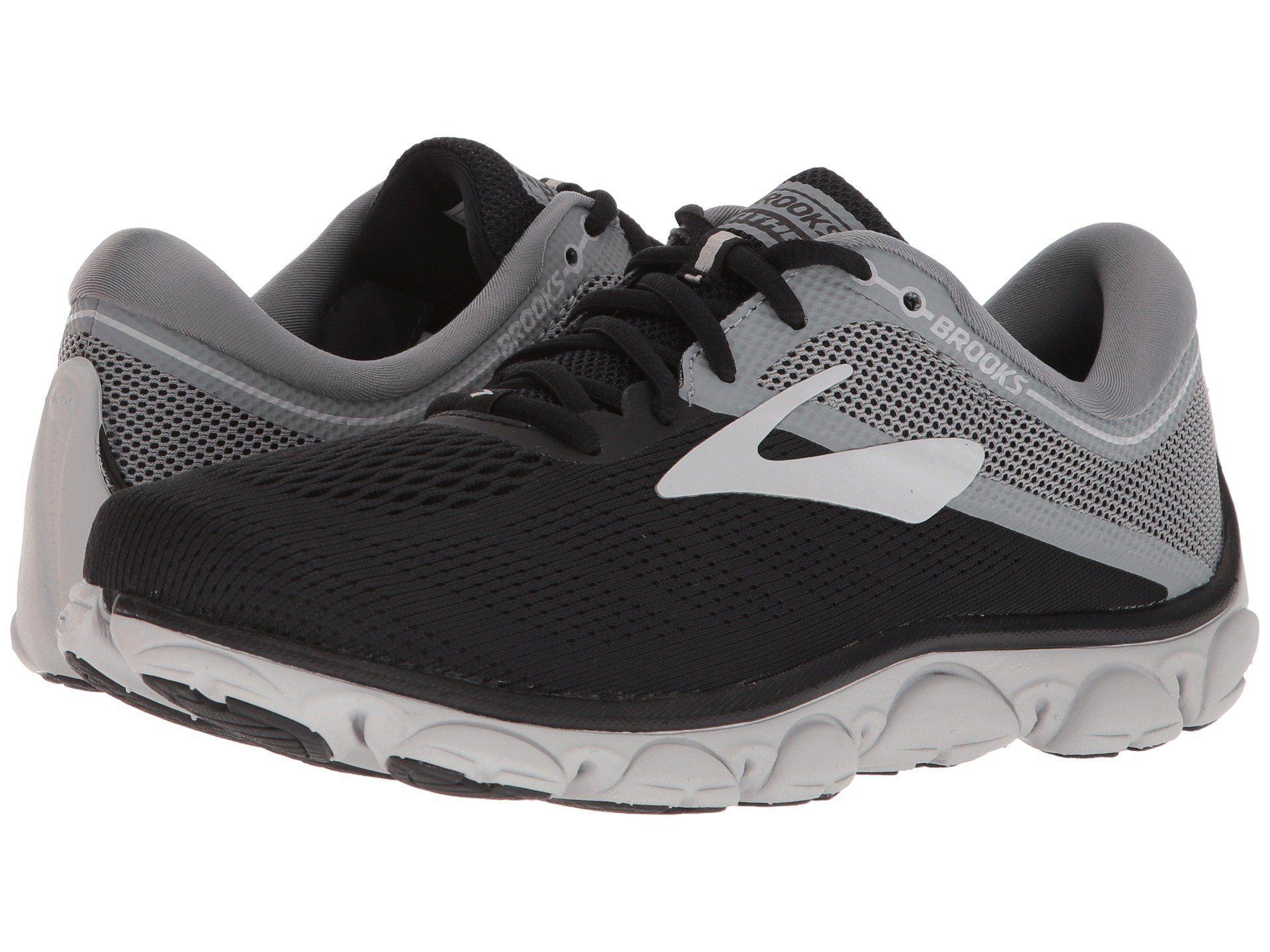 5c4b6fcca3f Lyst - Brooks Anthem (grey ebony pink) Women s Running Shoes in Black