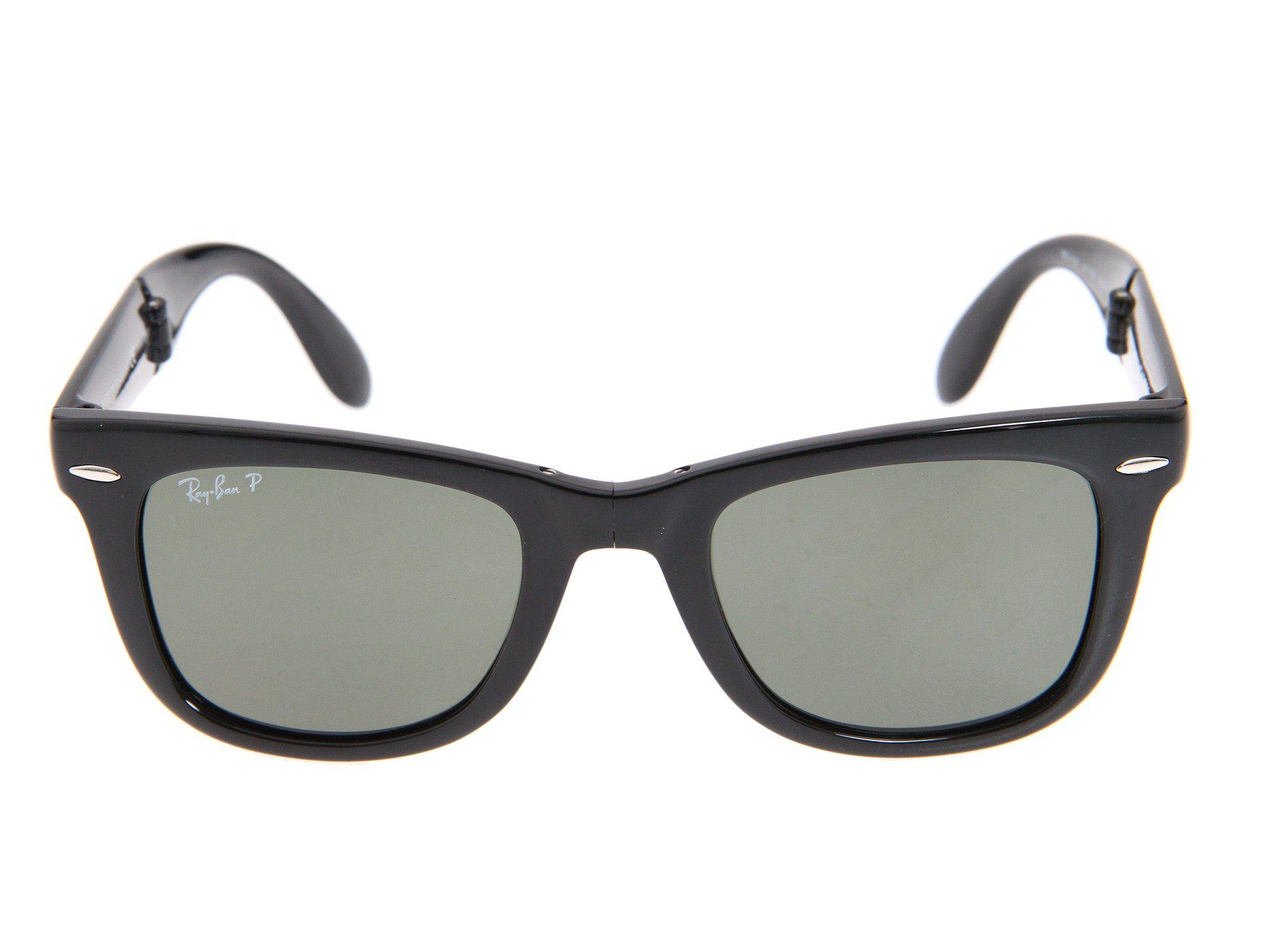 b489c0f352a Ray-Ban - Rb4105 Folding Wayfarer Polarized 50 Medium (black polarized Lens).  View fullscreen