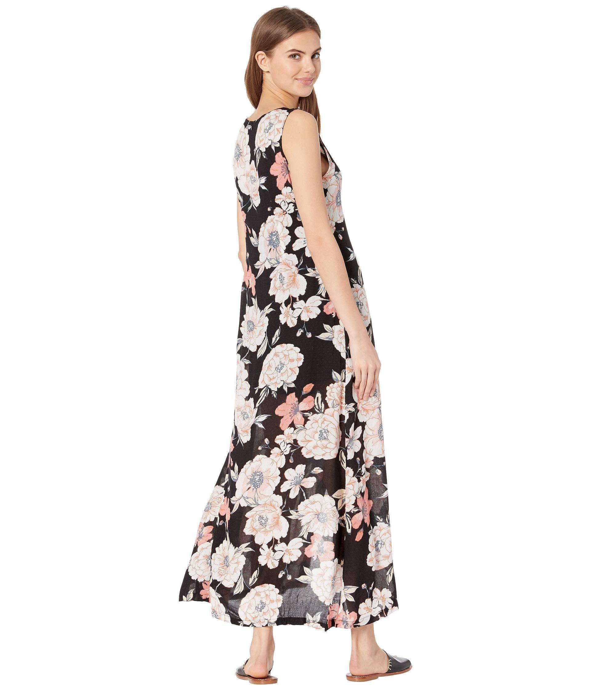 335001de0c9 Roxy - Multicolor Flowers Crown Maxi Overlay Romper (anthracite New Flowers)  Women s Dress -. View fullscreen