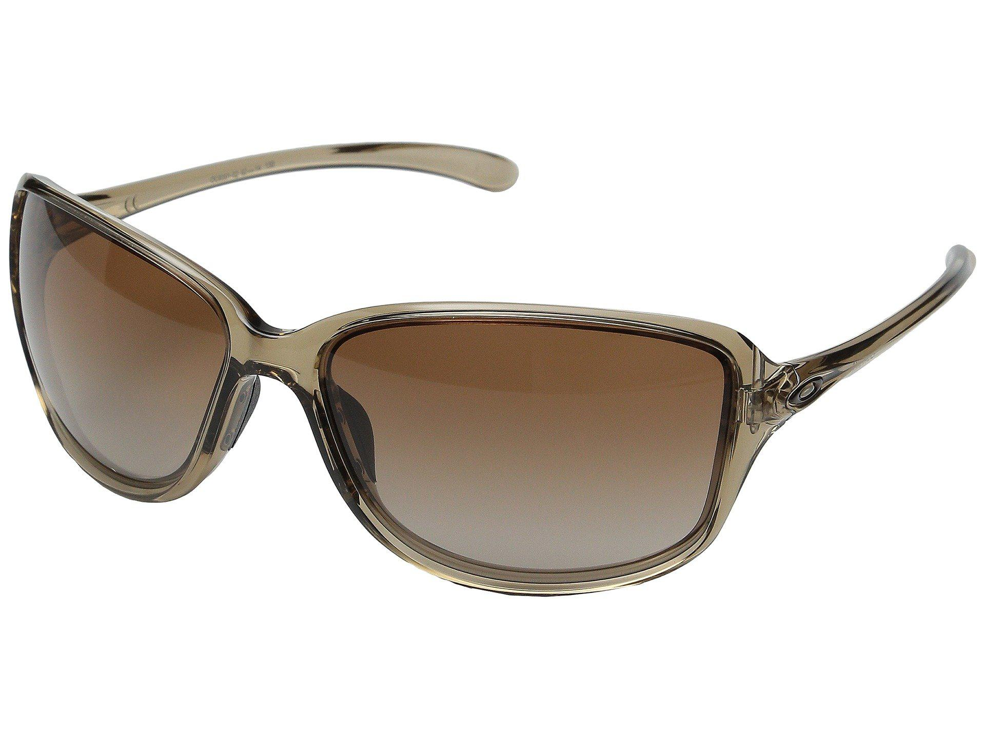 af0bf2b530 Oakley. Women s Brown Cohort (matte Black W  Prizm Tungsten Polarized)  Plastic Frame Fashion Sunglasses