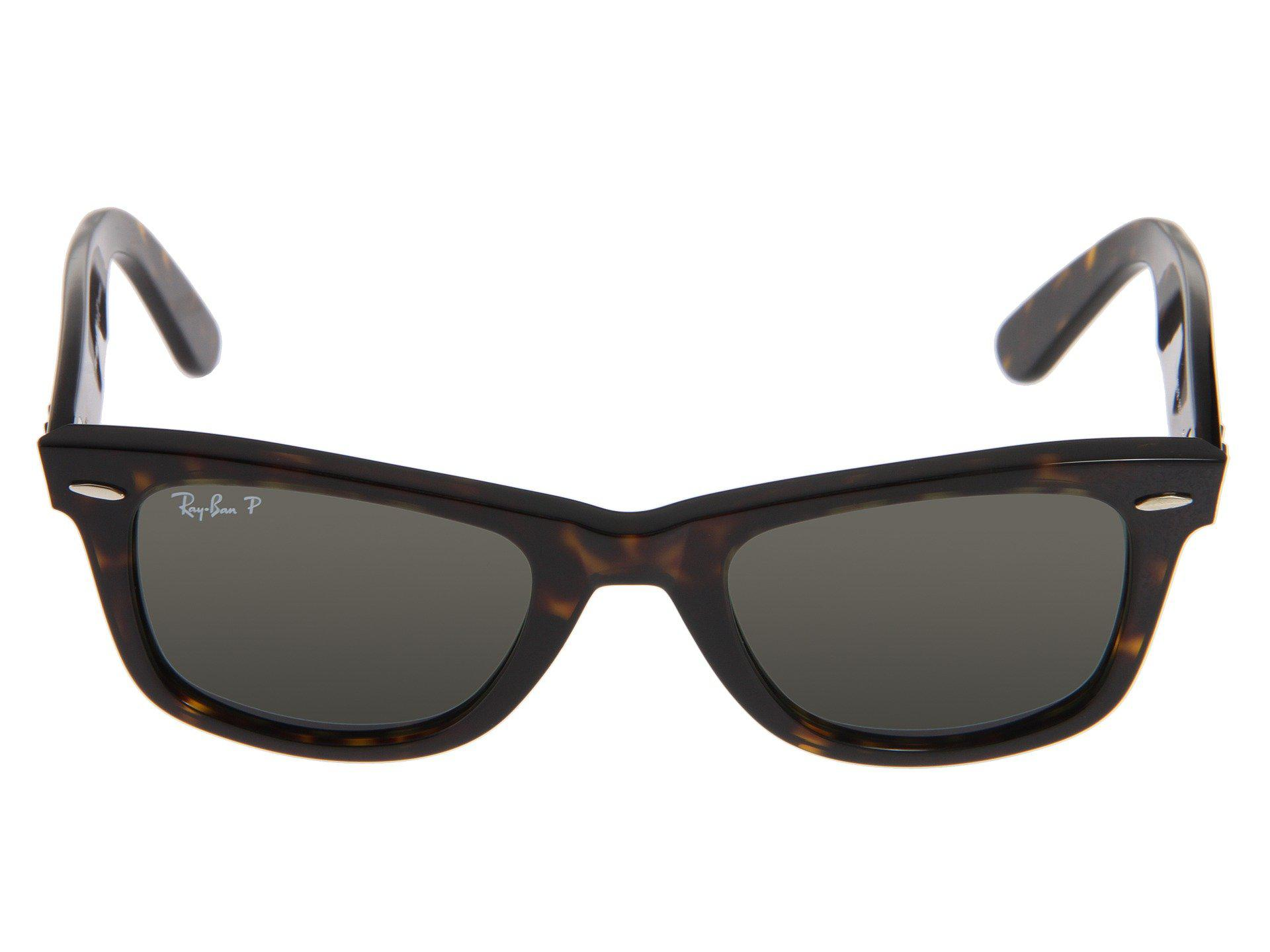 631c3bfc18 Ray-Ban - Brown Rb2140 Original Wayfarer Polarized (tortoise green  Polarized Lens). View fullscreen