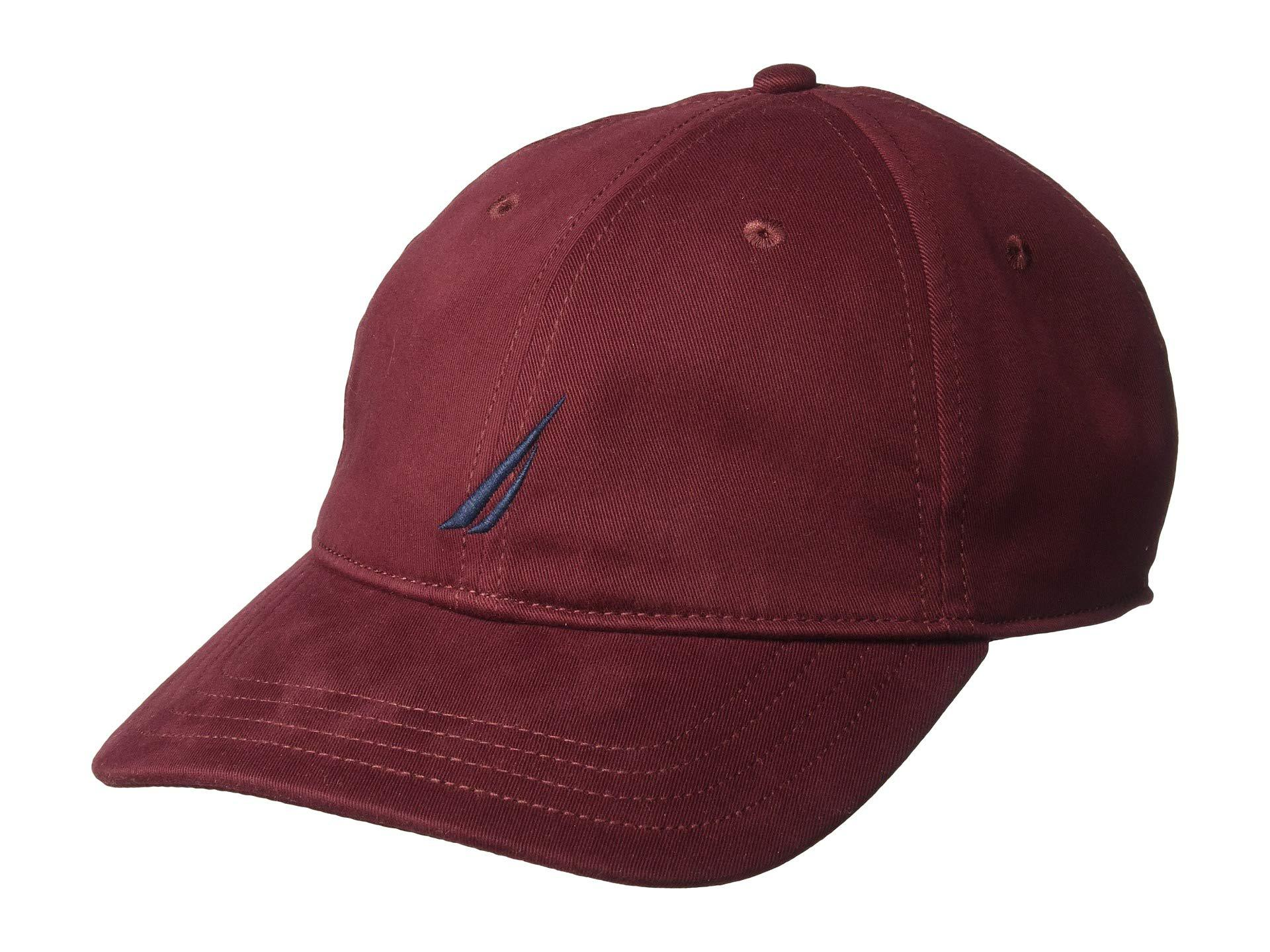 85ebc0a4178fe Nautica J Class 6 Panel Hat (castle Rock) Caps in Red for Men - Lyst