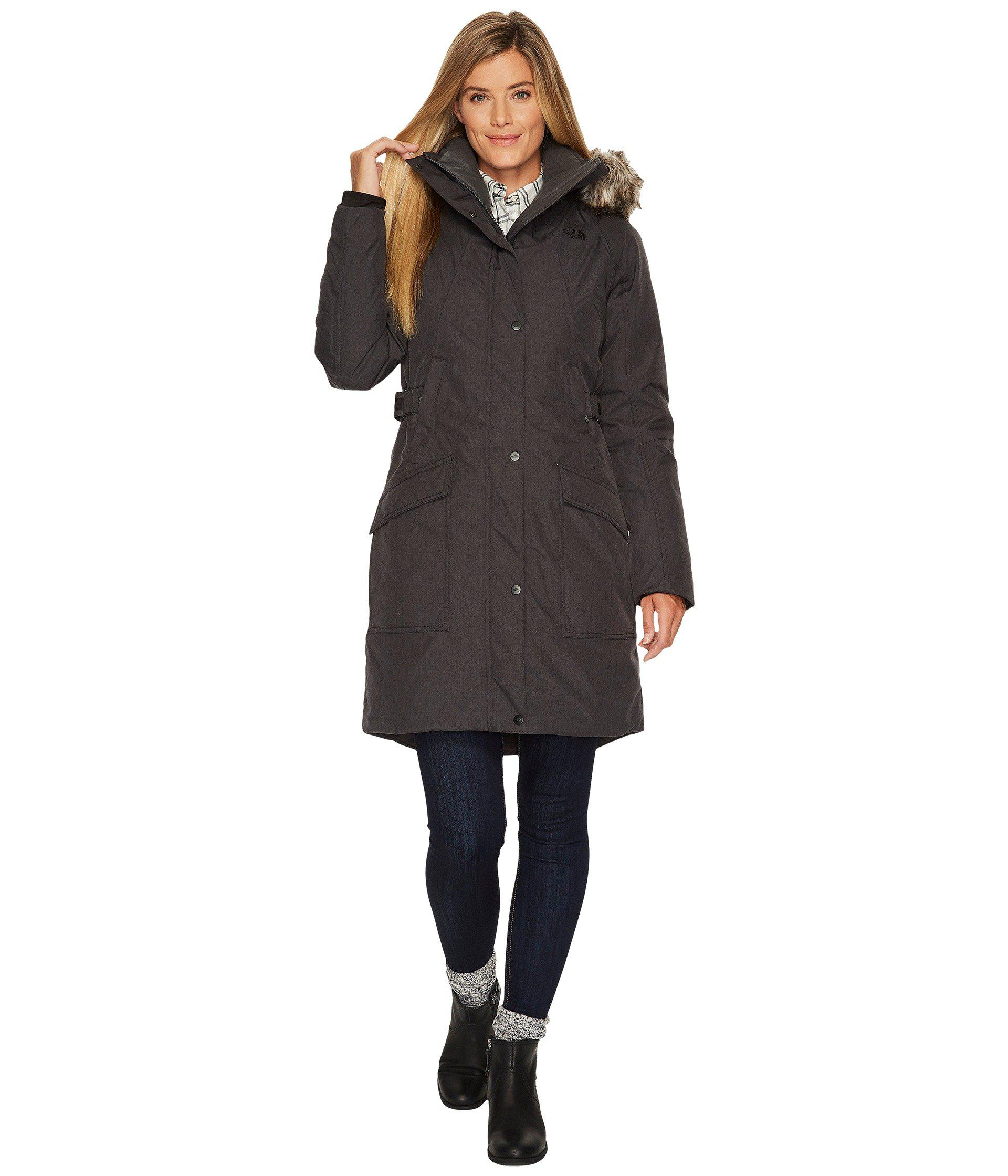 cf5a93ca9be96 The North Face. Gray Outer Boroughs Parka (tnf Dark Grey Heather) Women s  Coat
