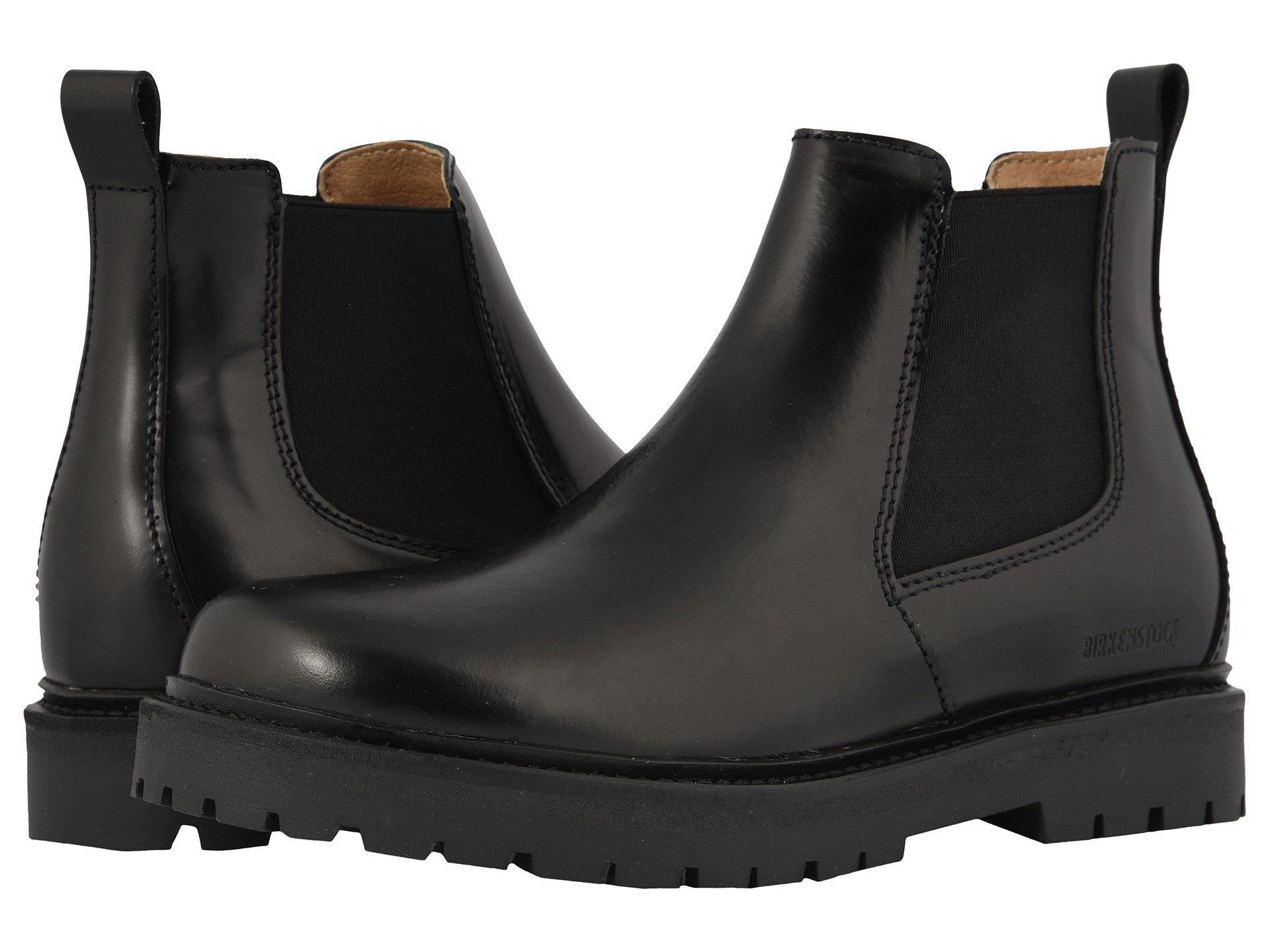 17218b15b040 Birkenstock Stalon (black Leather) Women's Shoes in Black - Lyst