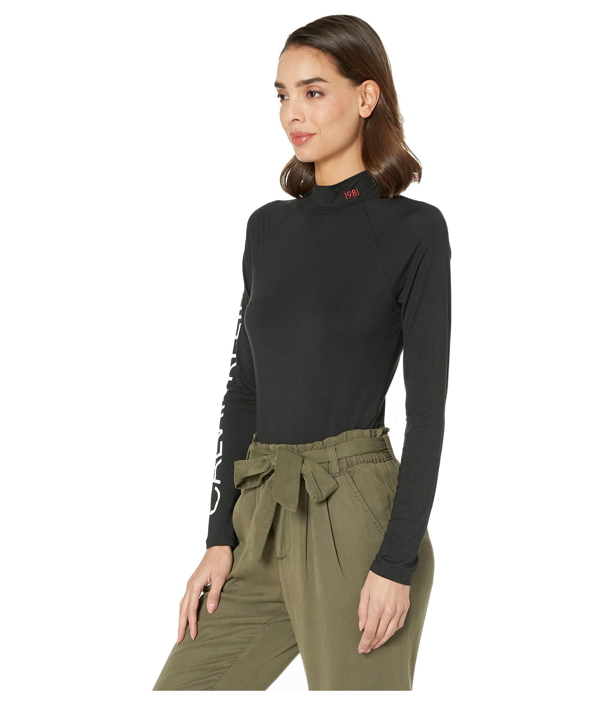 Lyst - Calvin Klein Statement Lounge Bodysuit (black) Women s Jumpsuit   Rompers  One Piece in Black 11375c69b