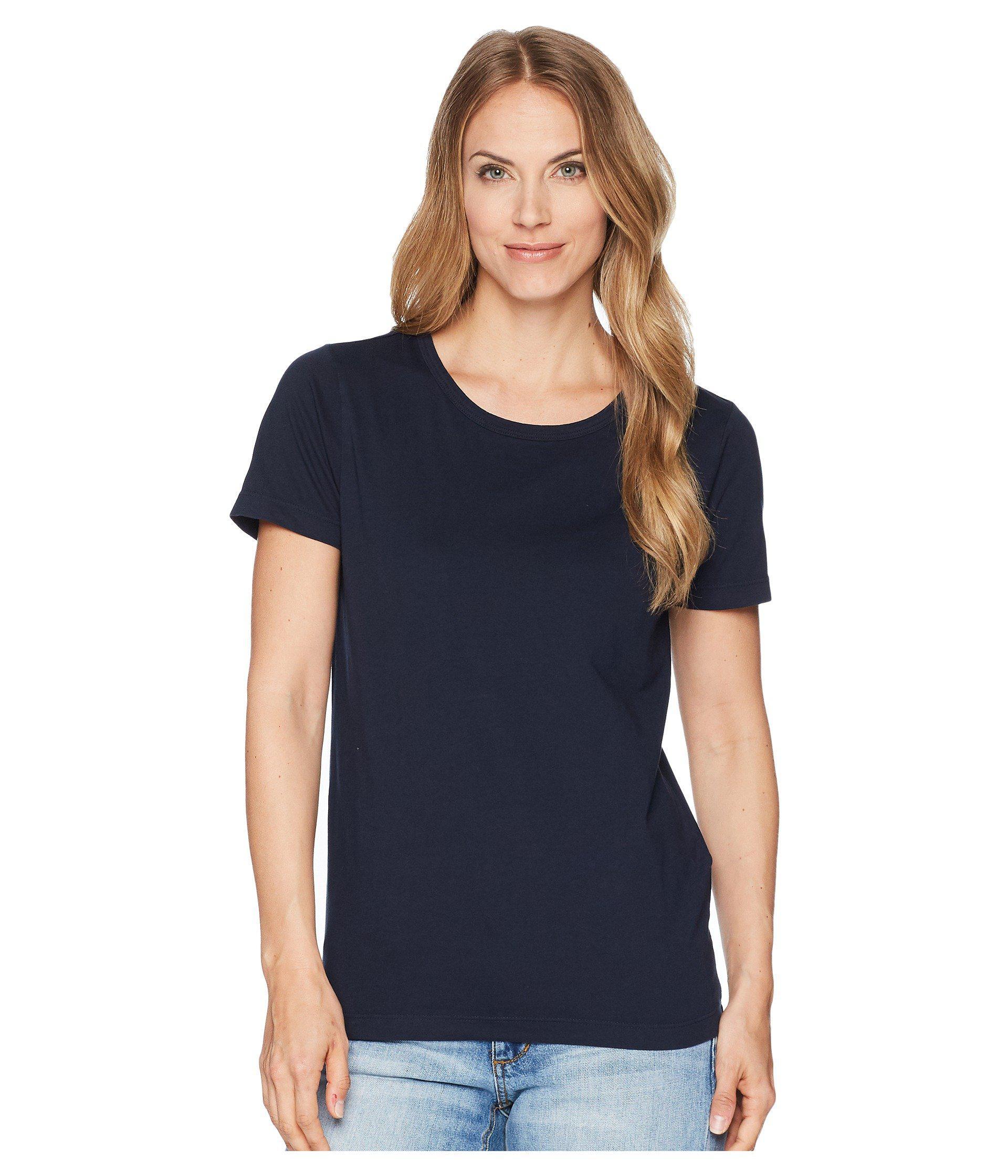 f5cf941c20d276 Lyst - Filson Whidbey Scoop Neck T-shirt (field Olive) Women s ...