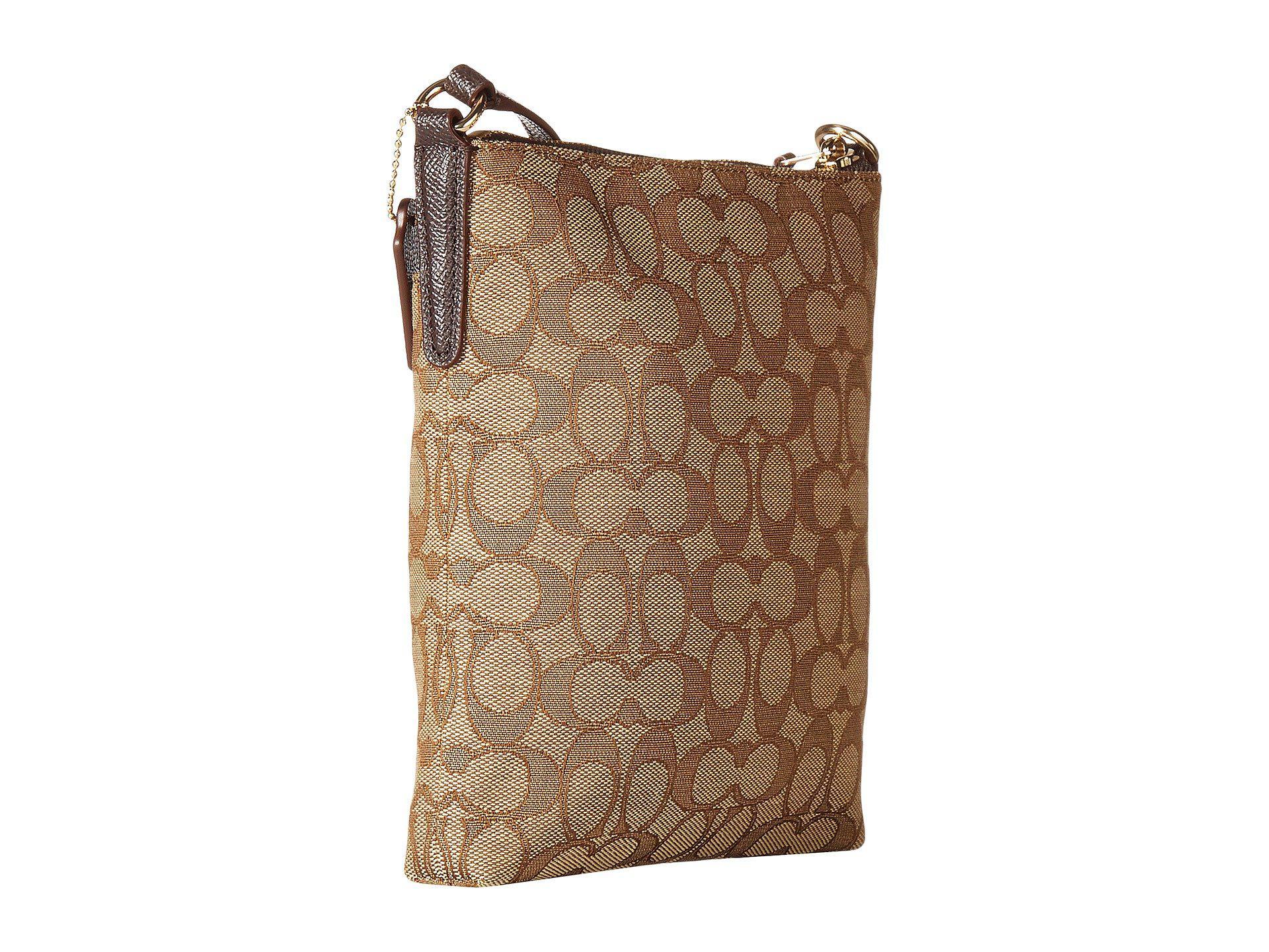 2c6cb93319 COACH - Signature Messenger Crossbody (light khaki brown) Cross Body  Handbags -. View fullscreen