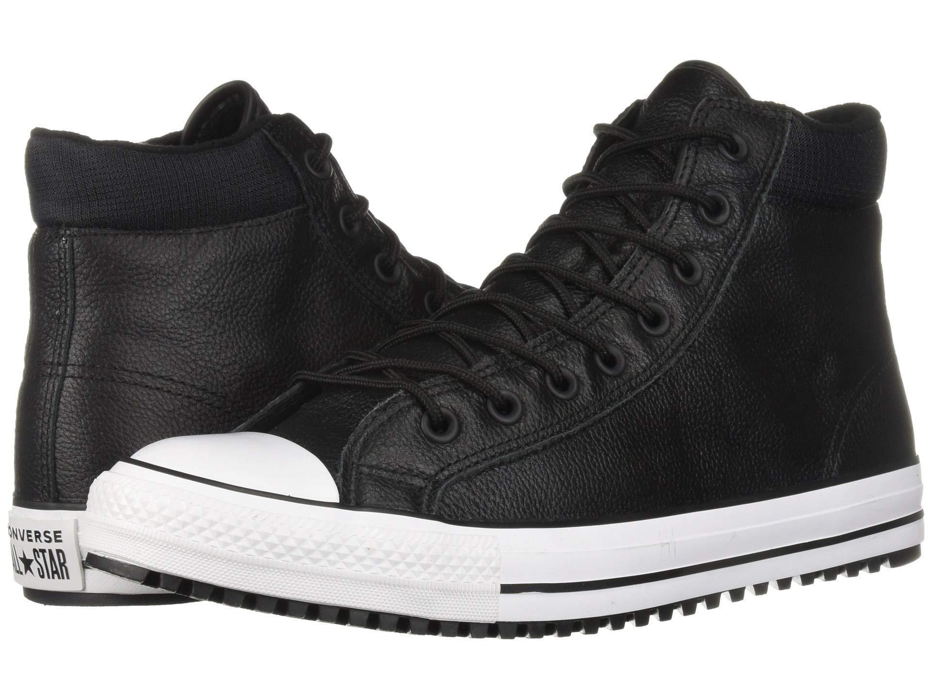 Lyst - Converse Chuck Taylor All Star Padded Collar Boot - Hi (black ... 016a4a7ec