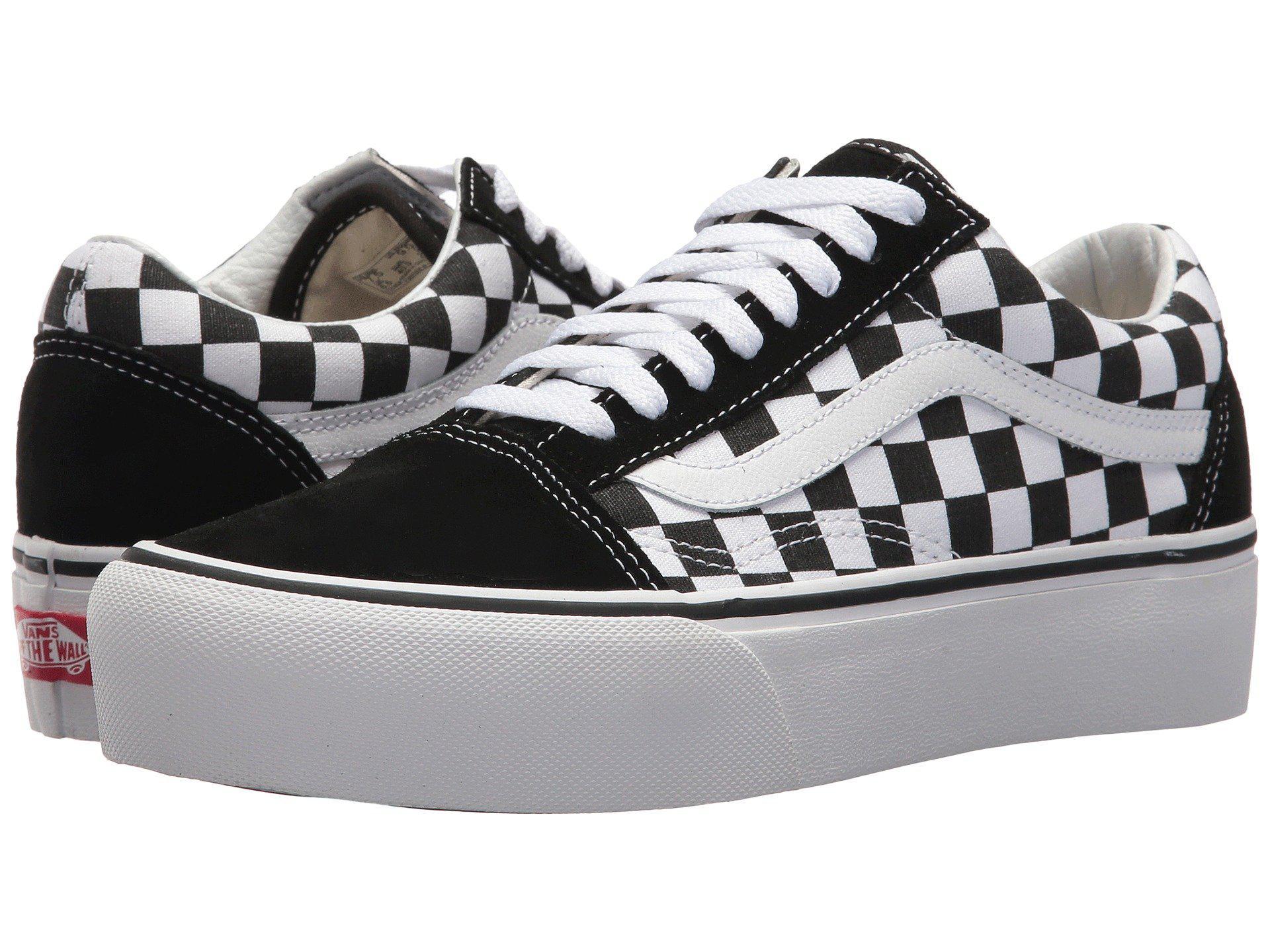 Lyst - Vans Old Skool Platform Sneaker in Black - Save 53% 73becee06